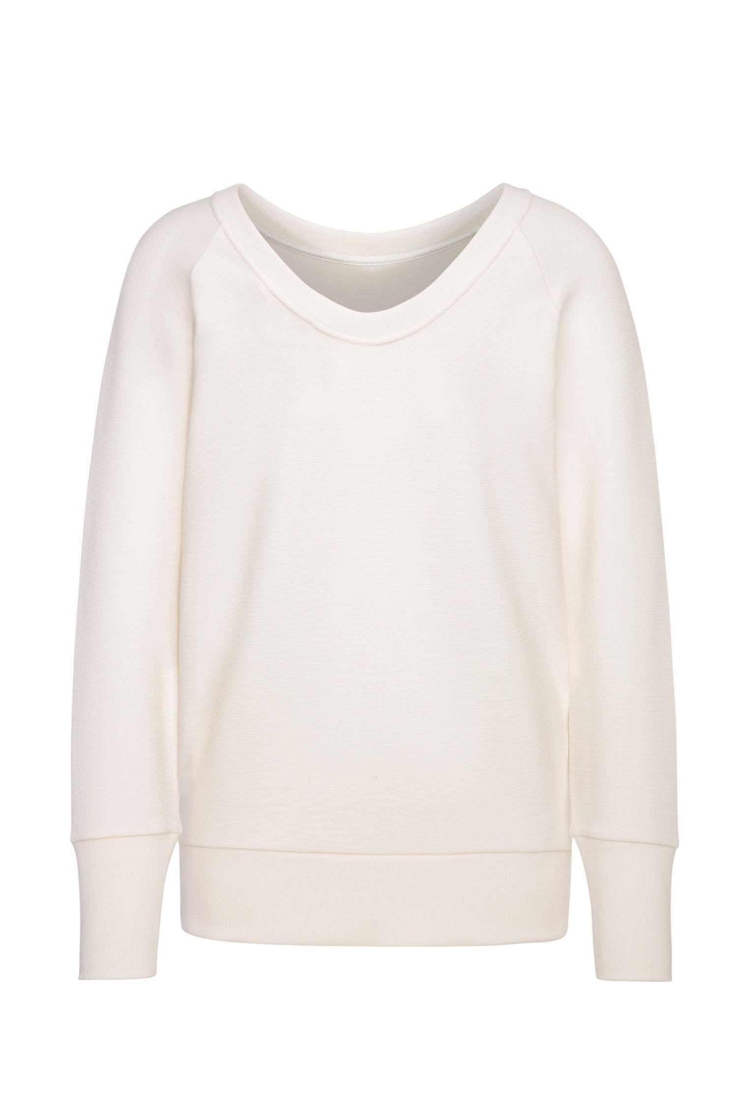 Oversize-Sweatshirt aus einem Baumwoll-Mix mit Elasthan: ´Tawow`