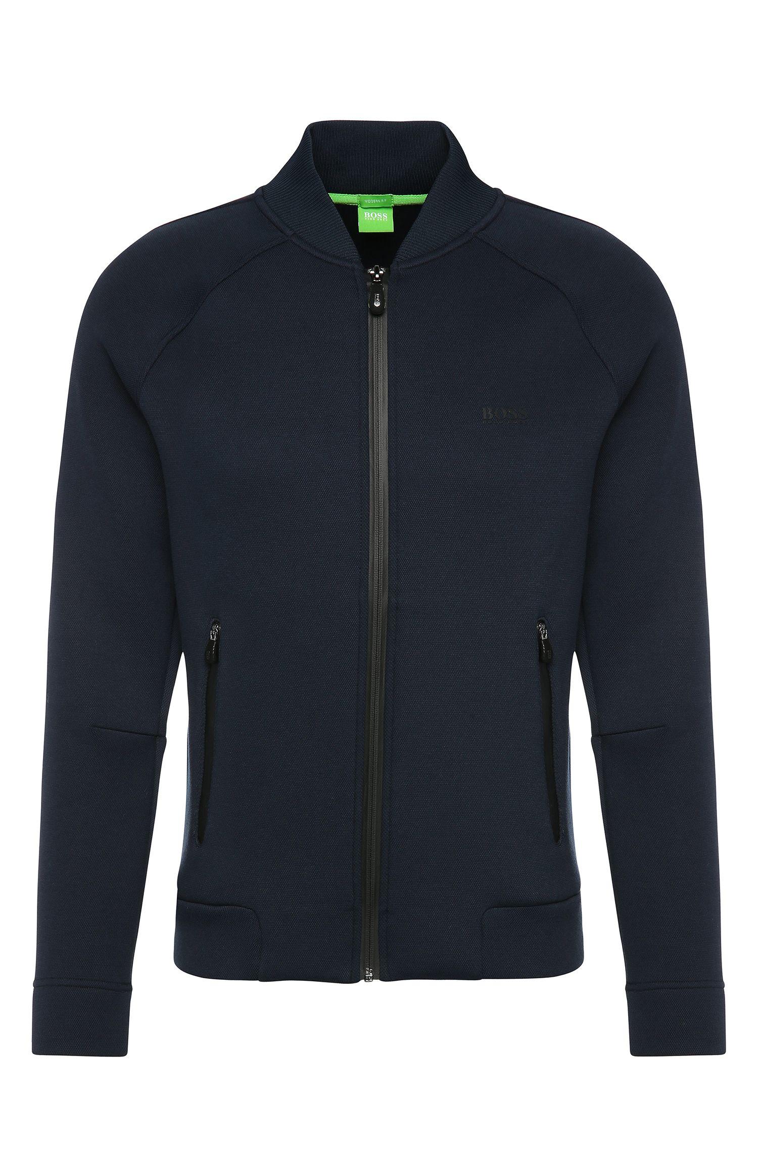Sportive Jacke aus Baumwoll-Mix mit Elasthan-Anteil: ´Sariq`