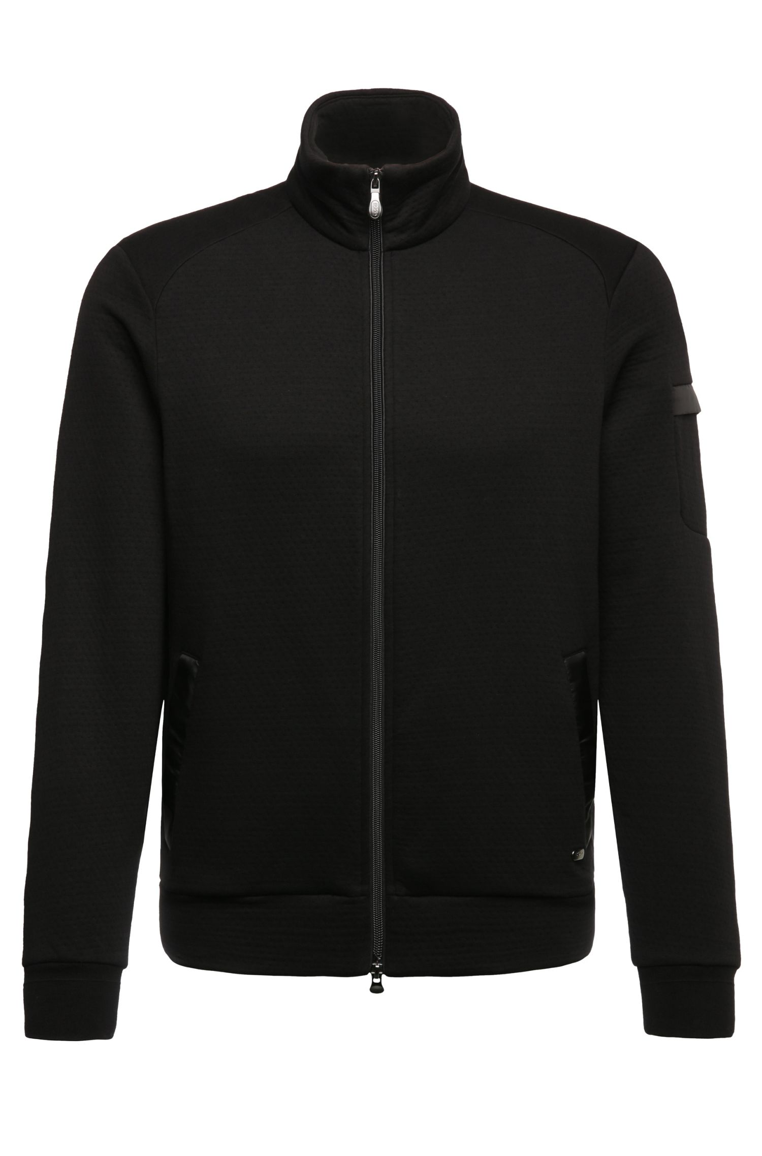 Blouson sweat Regular Fit en coton mélangé : « Skaz 2 »