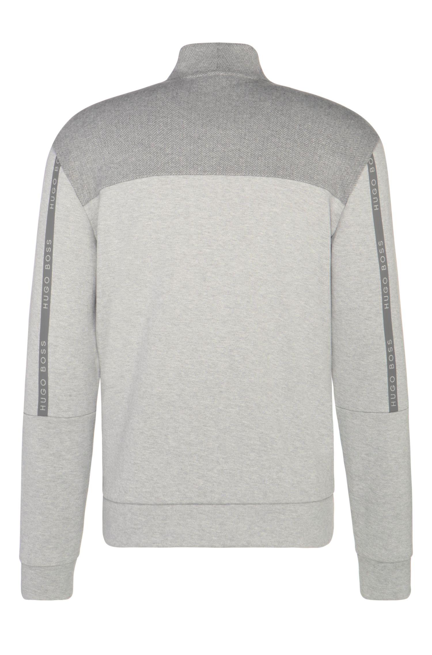 Sweatshirt-Jacke aus Baumwoll-Mix: ´Selwyn`