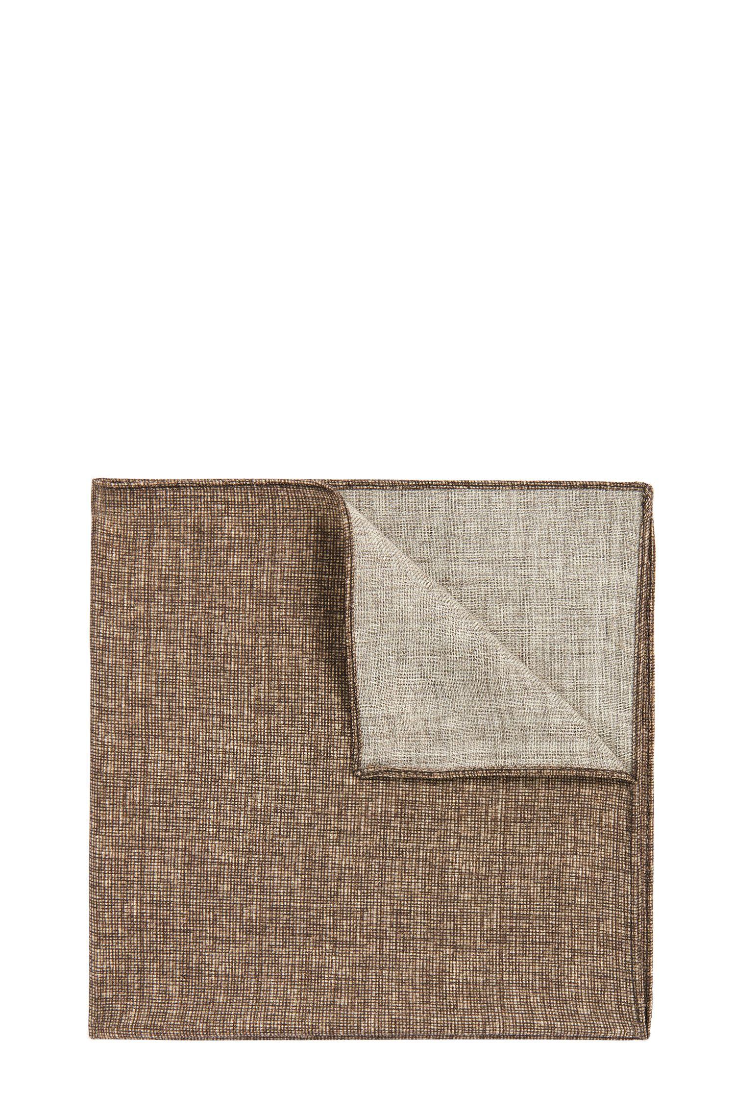 Einstecktuch aus reiner Wolle: 'Pocket sq. cm 33x33'