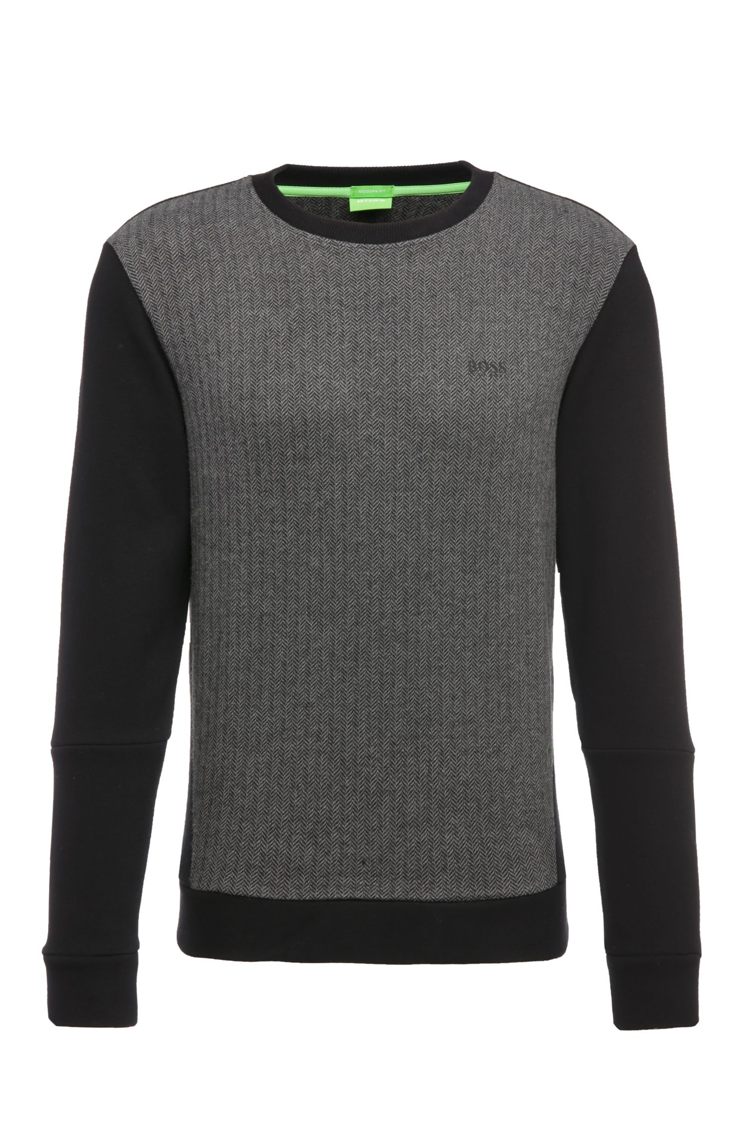 Regular-Fit Sweater aus einem Baumwoll-Mix: ´Salbo 2`