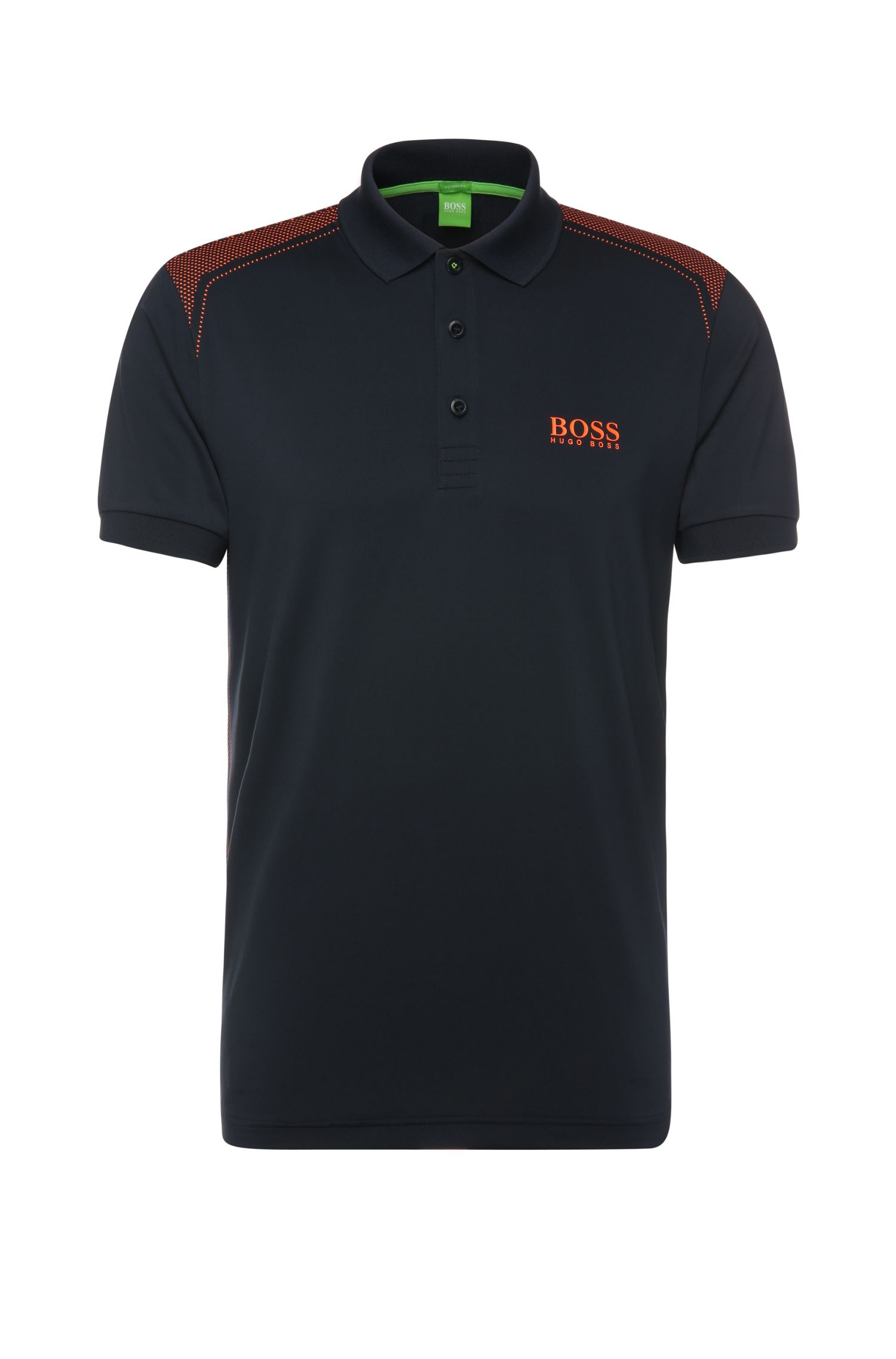 Regular-fit polo shirt in stretchy fabric: 'Paddy Pro 3'