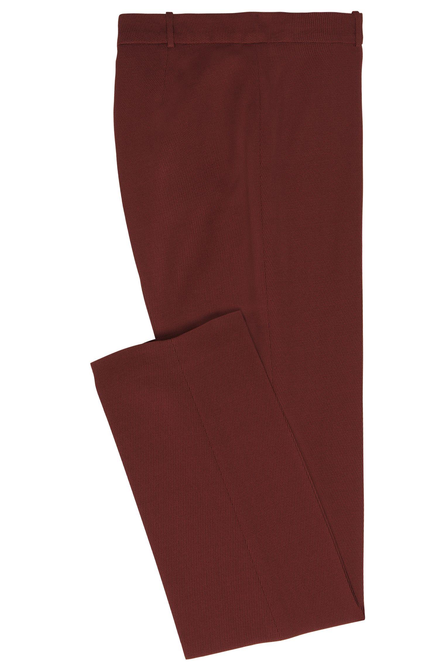 Pantalon Standard Fit en viscose mélangée à teneur en laine vierge: «Tamea5»