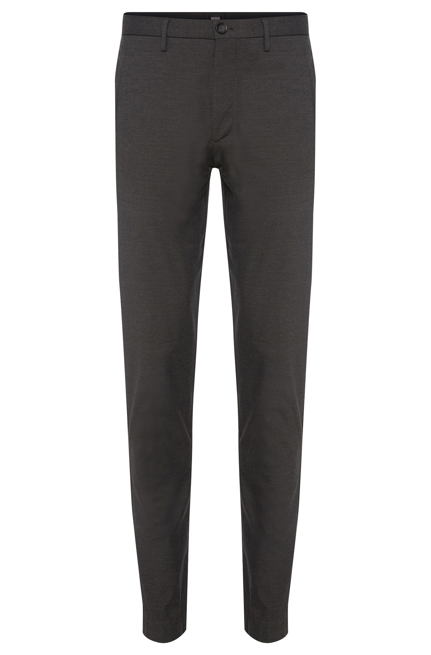 Pantaloni Travel Line slim fit in misto lana vergine: 'Kito-W'