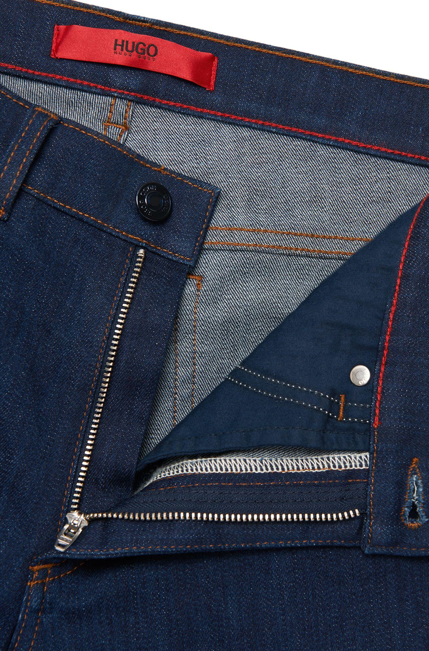 Jeans Slim Fit Bootcut en coton extensible: «Ginas»