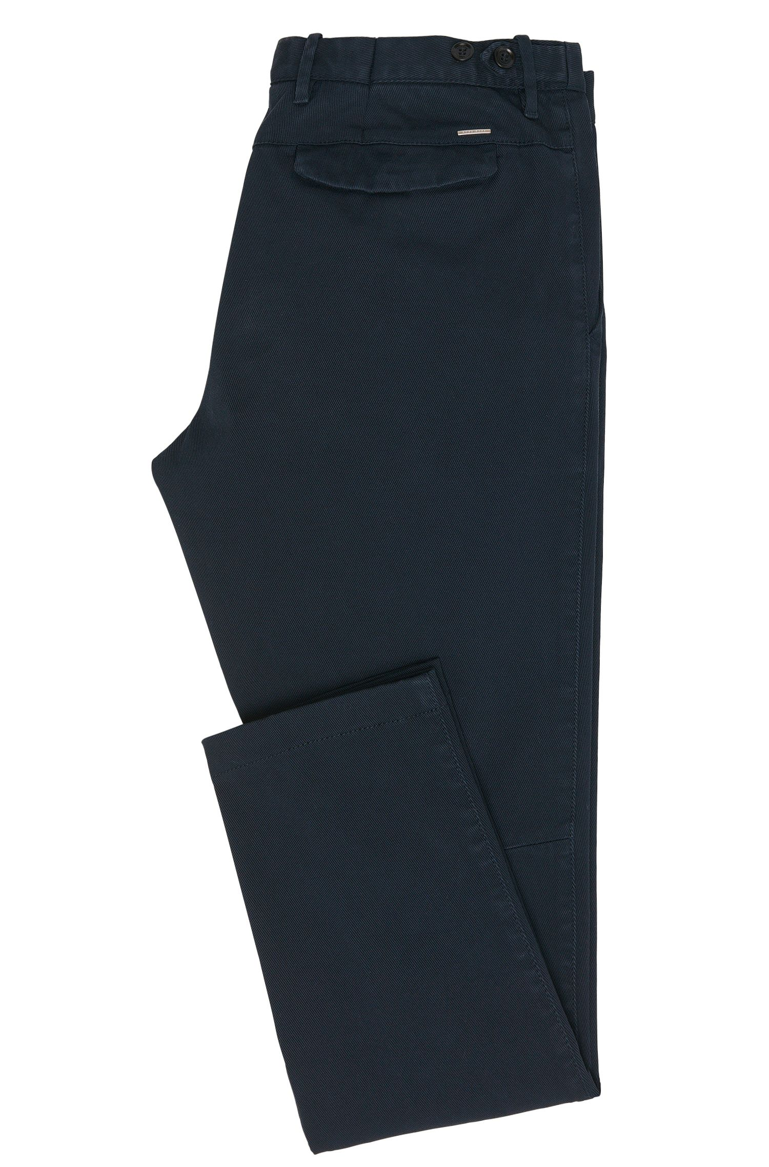 Pantalon Tapered Fit en coton stretch : « Kaito3-1-D »