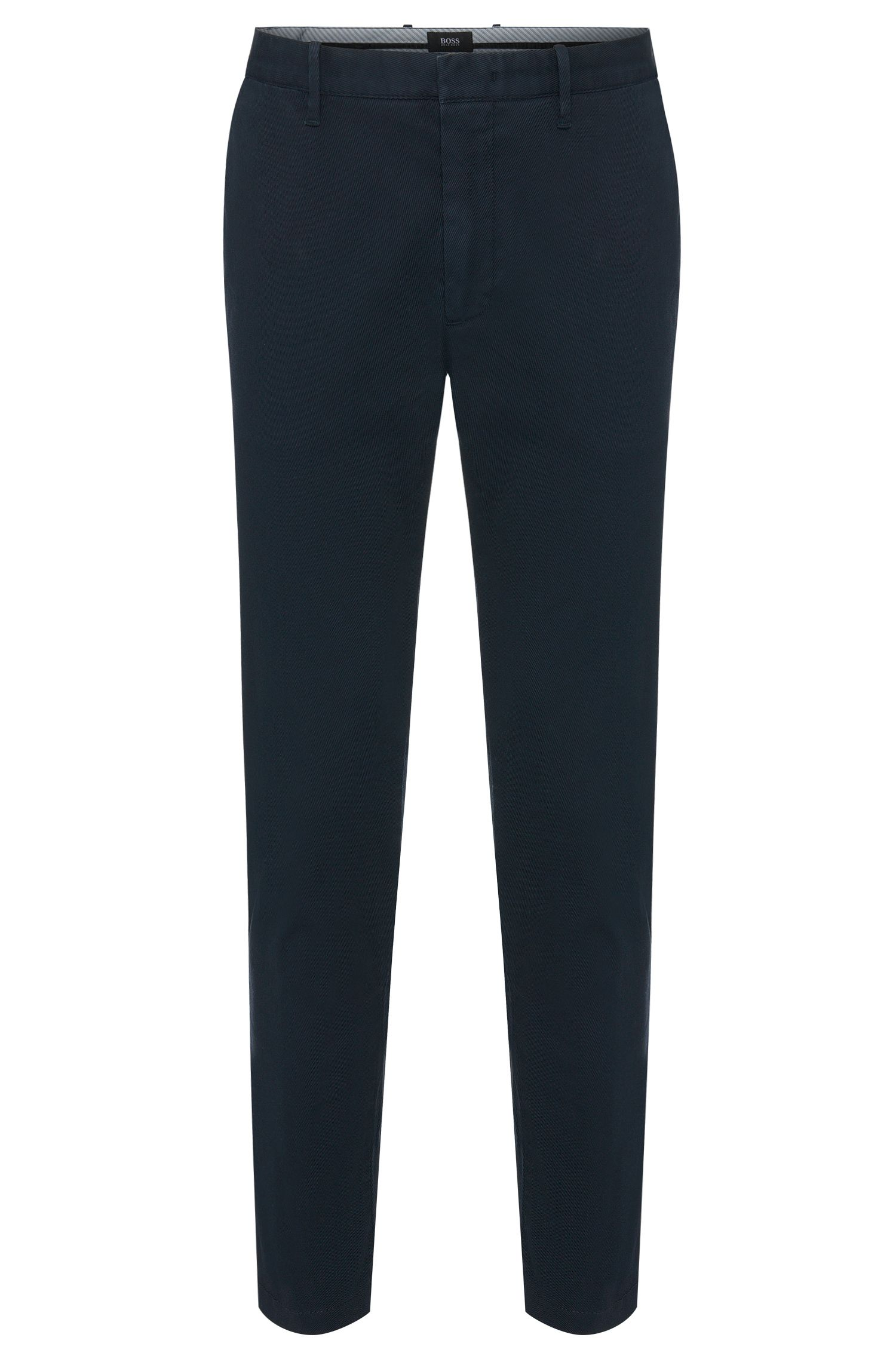 Tapered-fit broek van stretchkatoen: 'Kaito3-1-D'