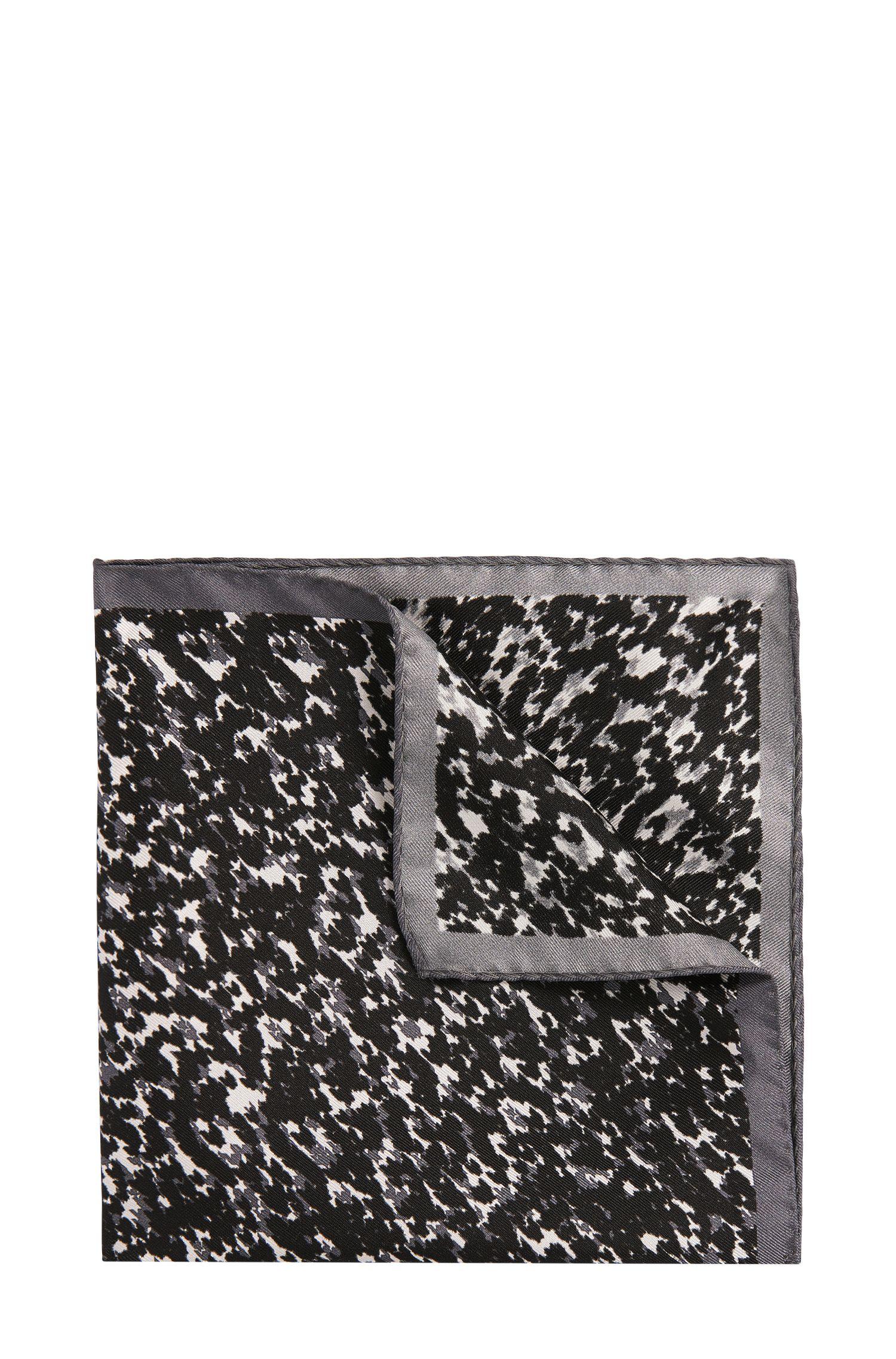 Pañuelo de bolsillo estampado en seda: 'Pocketsquare 33x33 cm'