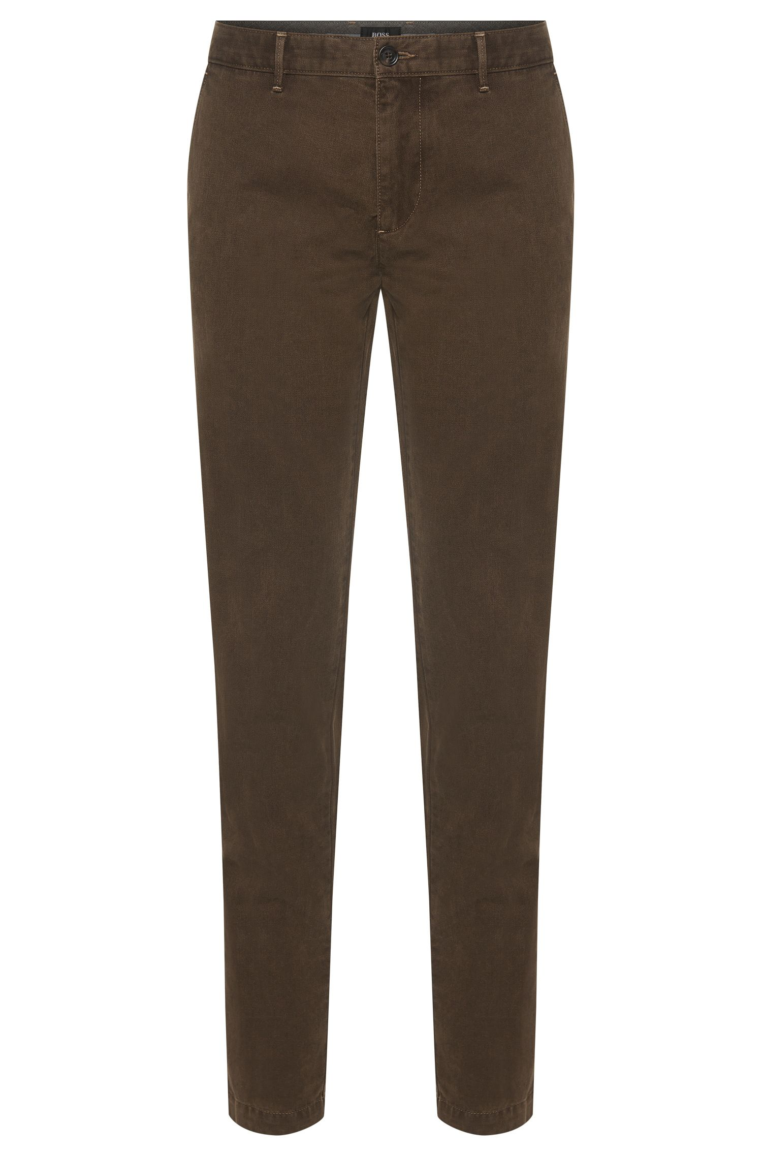 Regular-Fit Chino aus Stretch-Baumwolle: 'Crigan3-W'