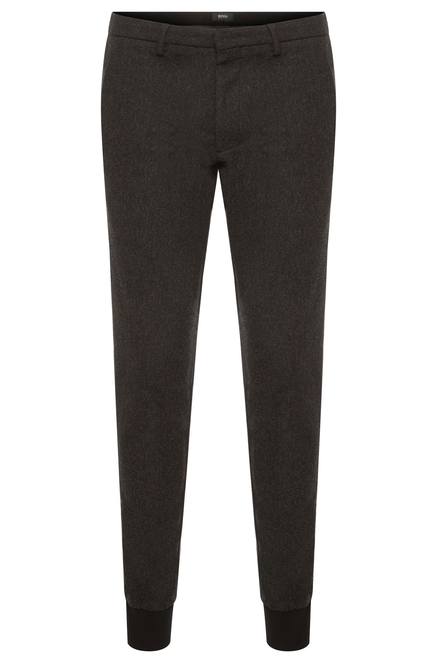 Slim-fit Travel Line trousers in cotton blend: 'Kito-Jogg-W'