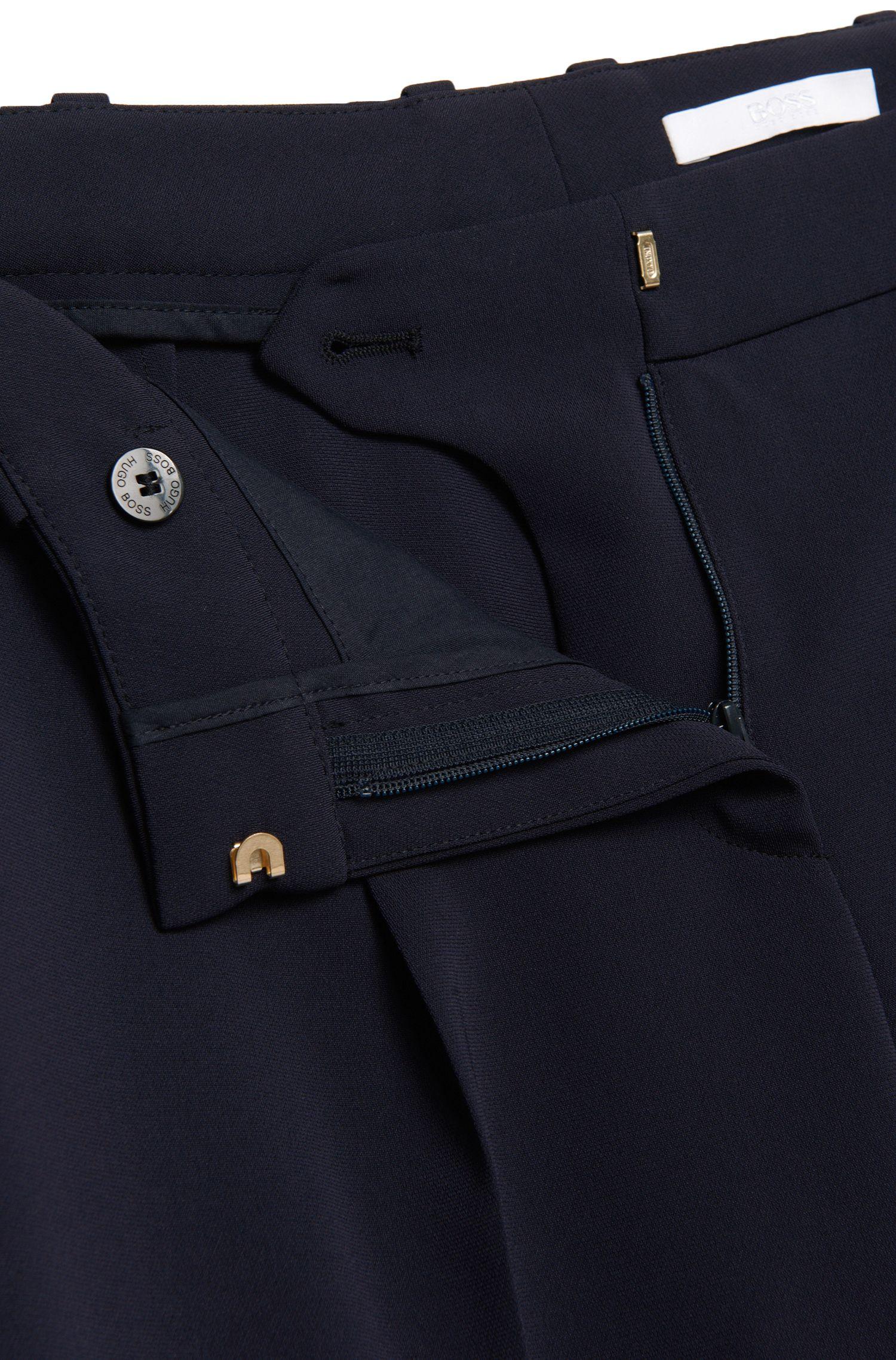 Regular-Fit Hose in Cropped-Länge: 'Tobaluka6'