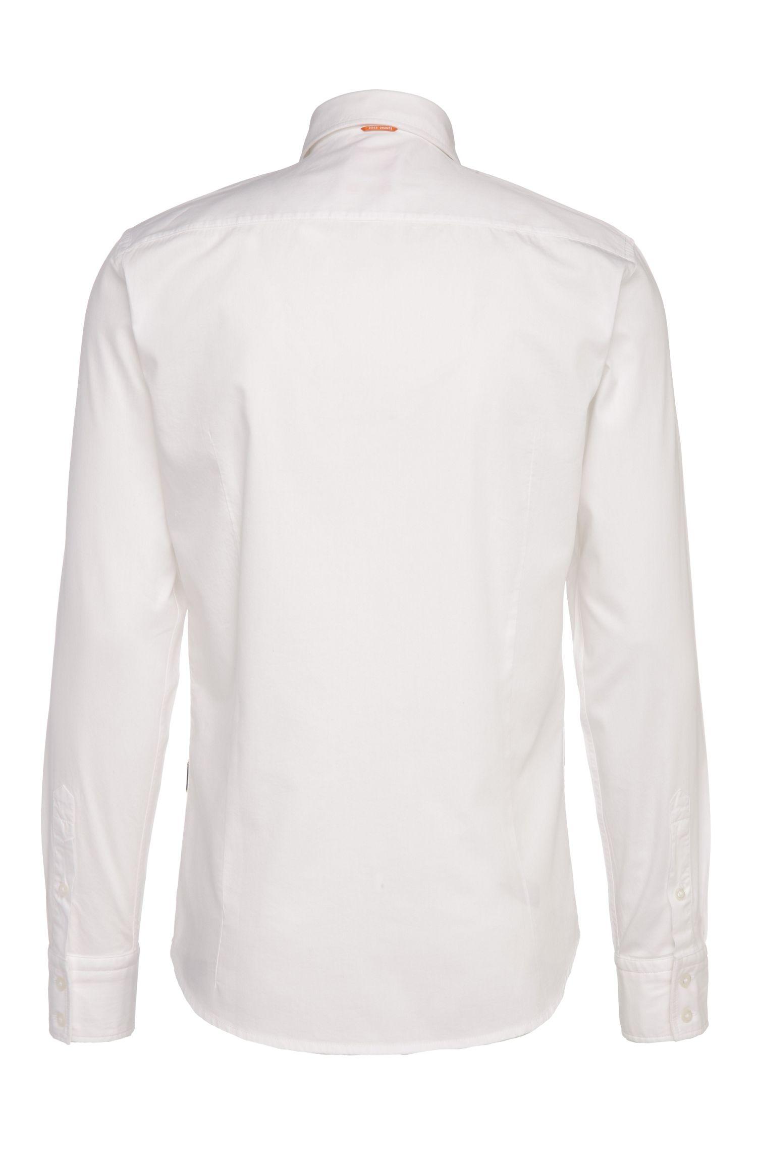 Slim-Fit Hemd aus leichter Baumwolle: ´EslimE_1`
