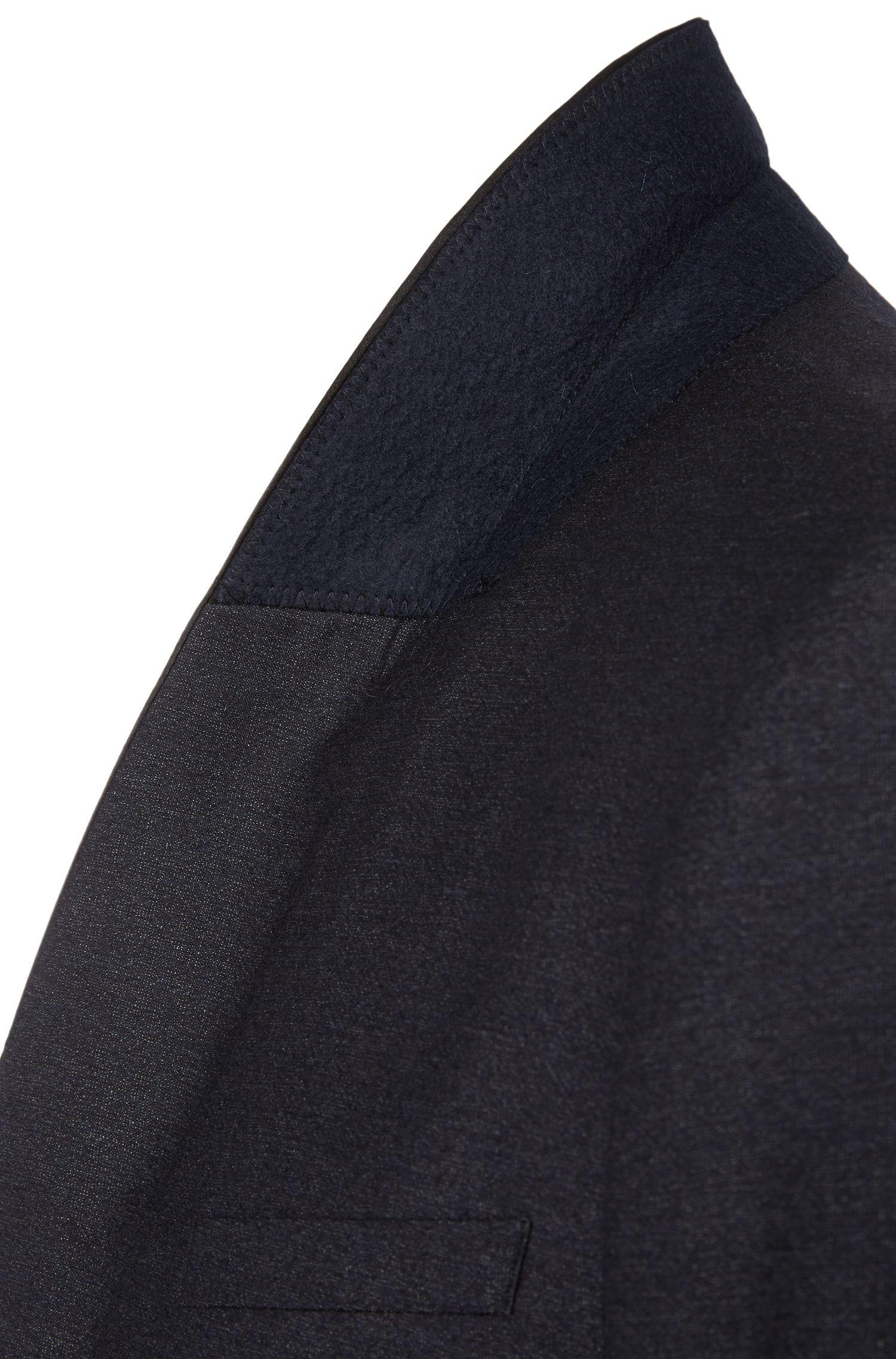 Smoking Regular Fit en laine vierge mélangée à teneur en soie: «C-John/C-Saimen»