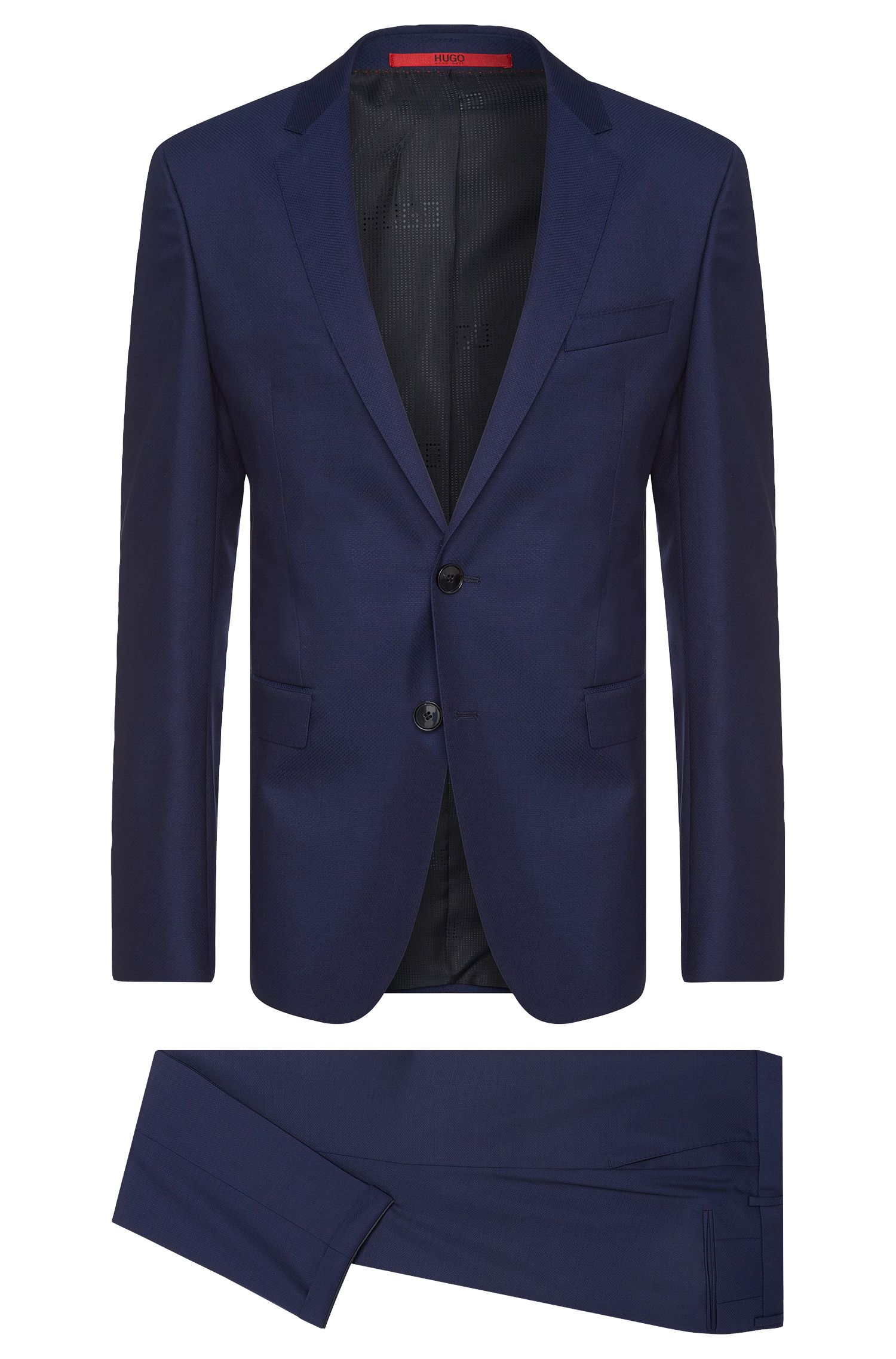Extra slim-fit suit in new wool: 'C-Ryan/C-Win'