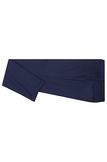 Extra Slim-Fit Anzug aus Schurwolle: 'C-Ryan/C-Win', Blau
