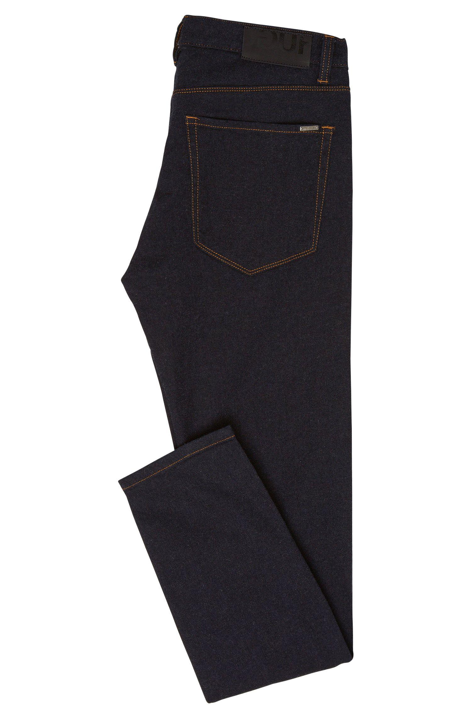 Jeans Skinny Fit en coton mélangé extensible à teneur en modal: «HUGO734»