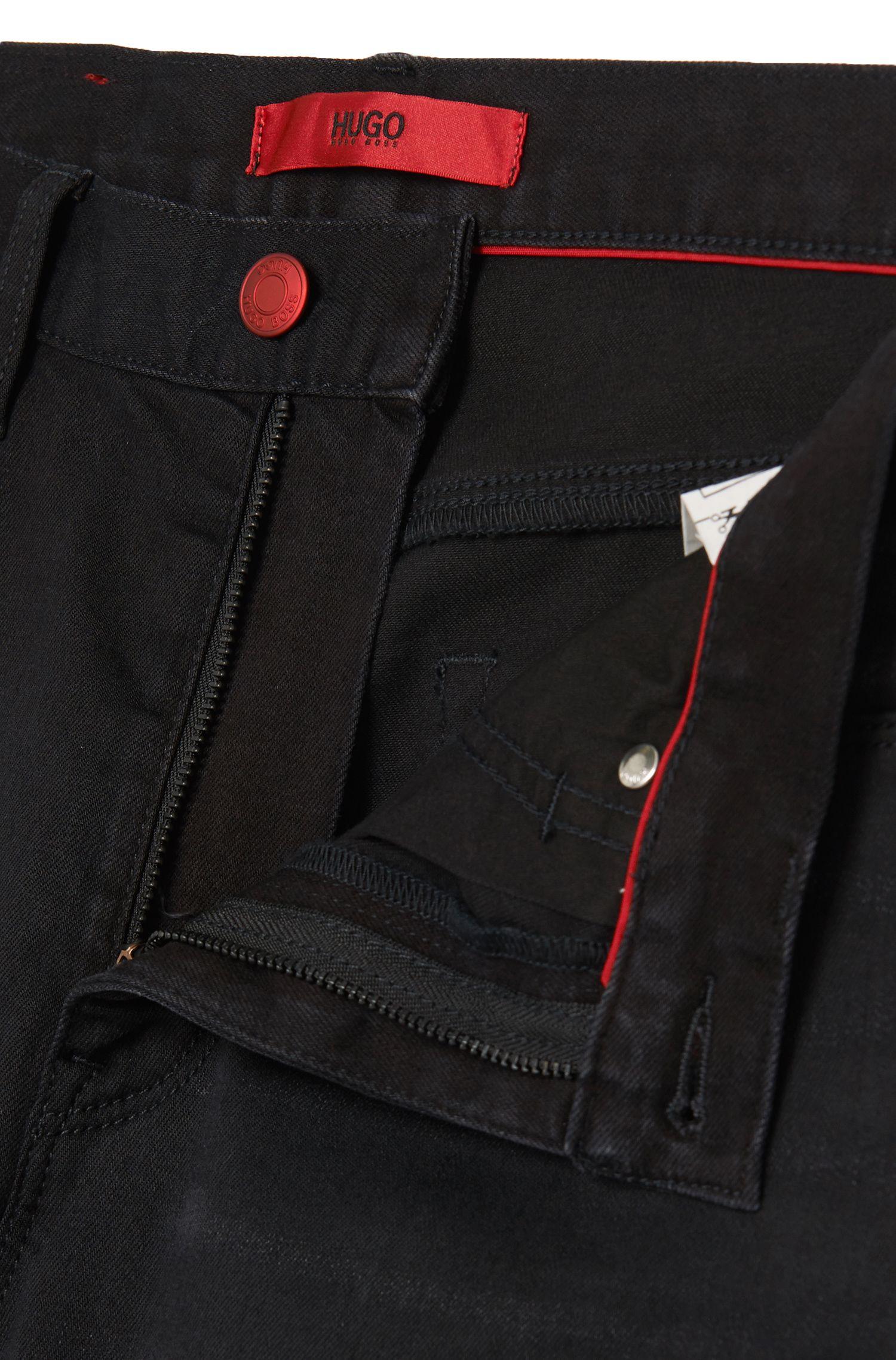 Skinny-fit jeans van een katoenmix: 'HUGO 734'