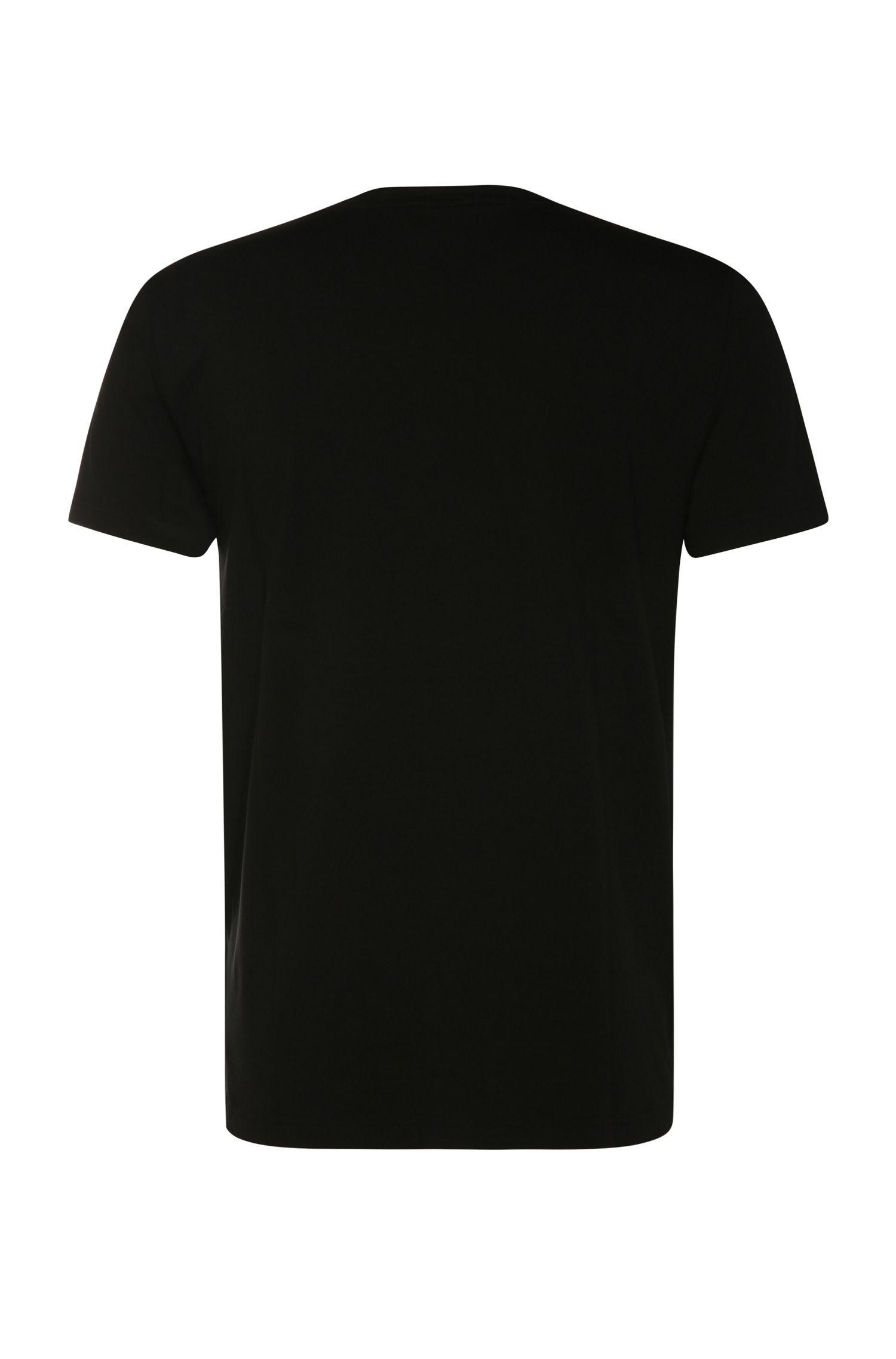 Slim-Fit Shirt aus elastischem Baumwoll-Mix: ´Teecell`