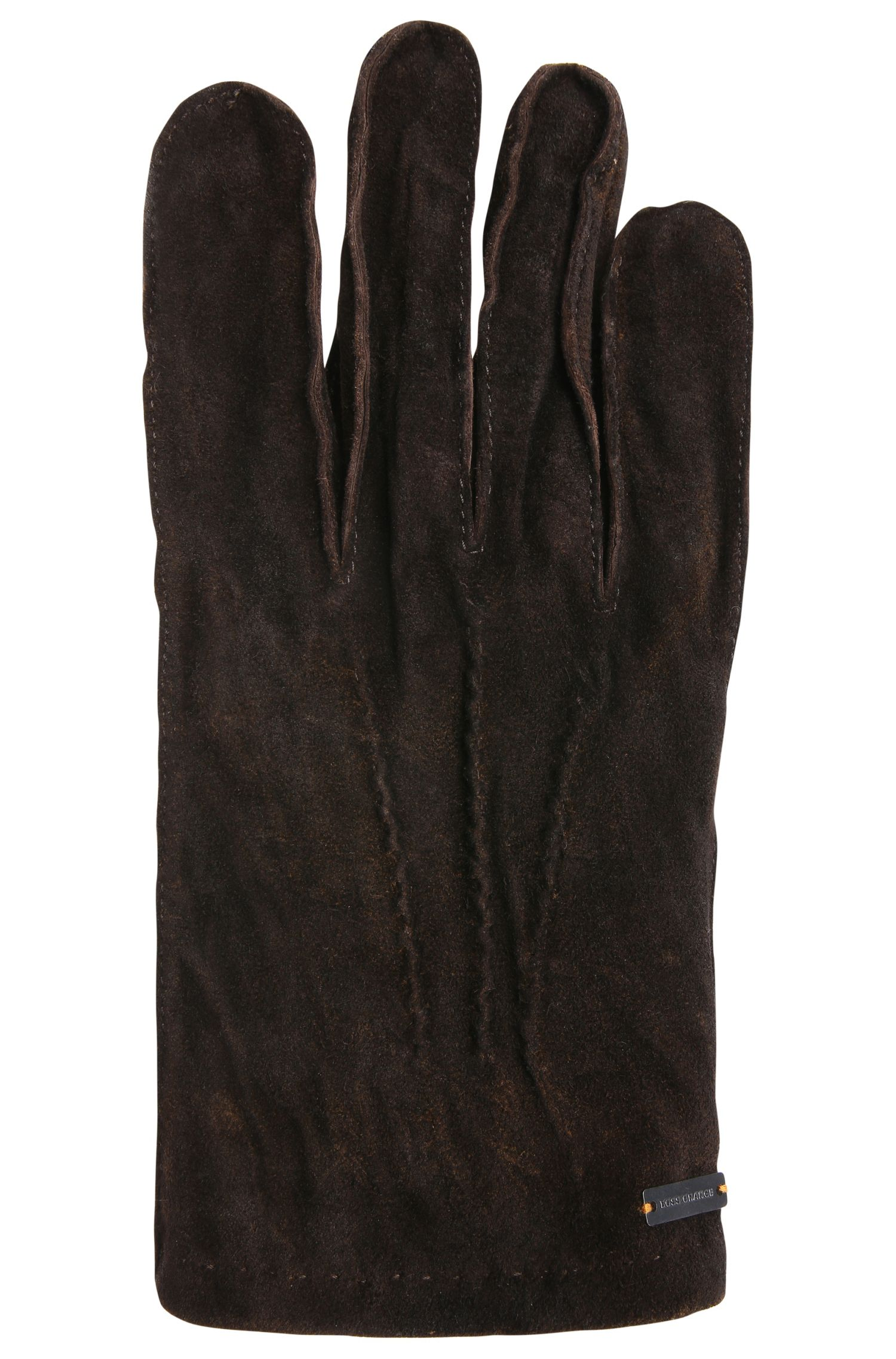 Handschuhe aus aufgerautem Leder: ´Gilderoy`