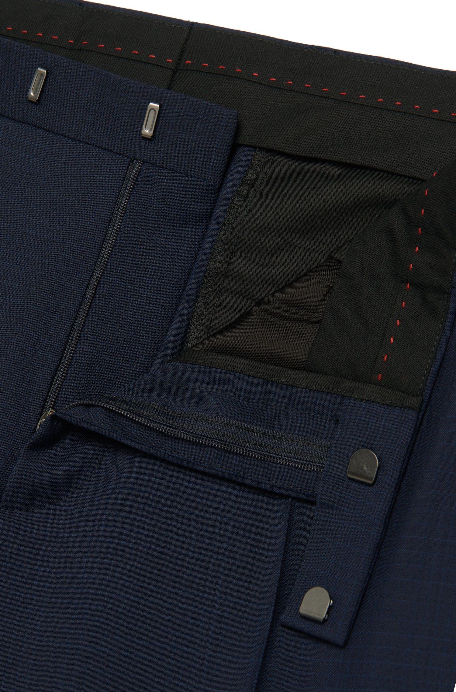 Costume trois pièces Regular Fit à rayures discrètes en laine vierge: «C-Jim/C-Simmons/C-WE»
