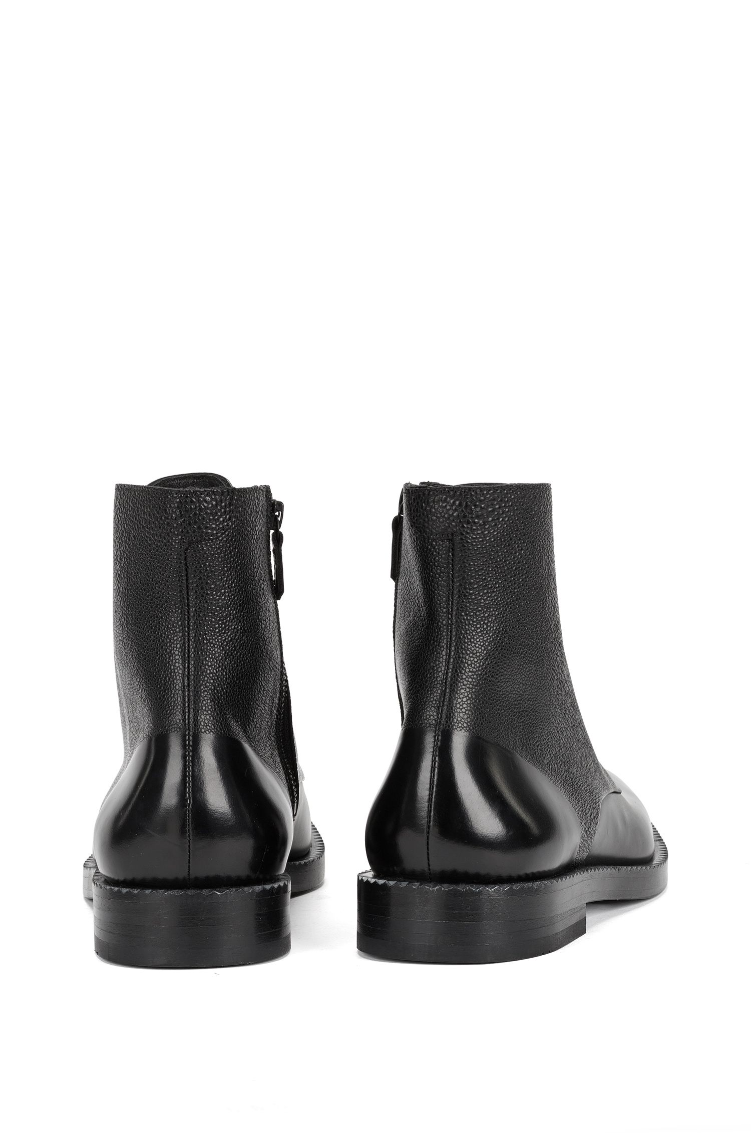 Boots aus Scotchgrain-Leder: 'Mono_Boot_mx'