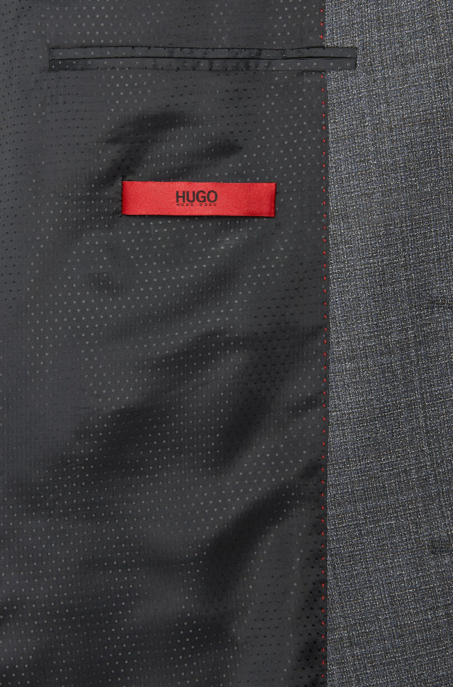 Regular-Fit Sakko aus Schurwoll-Mix mit aufgesetzten Eingrifftaschen: 'C-Jario'