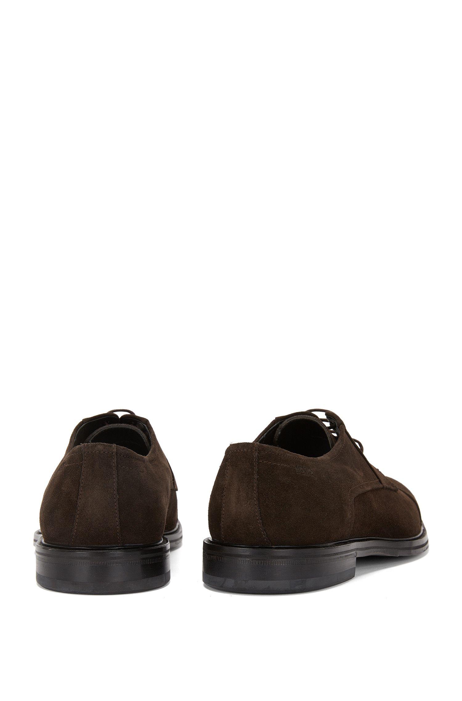 Chaussures à lacets en daim à bout arrondi: «Neoclass_Derb_sd»