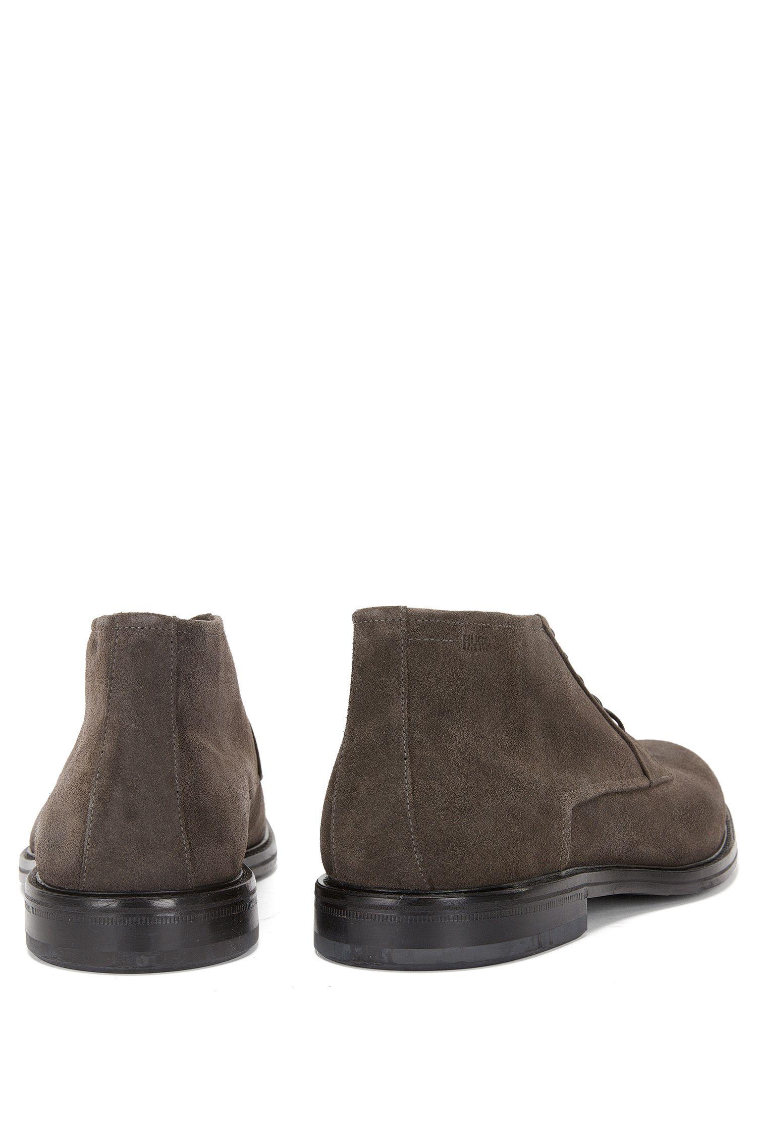 Chaussures à lacets en cuir de style desert boot: «Neoclass_Desb_sd»
