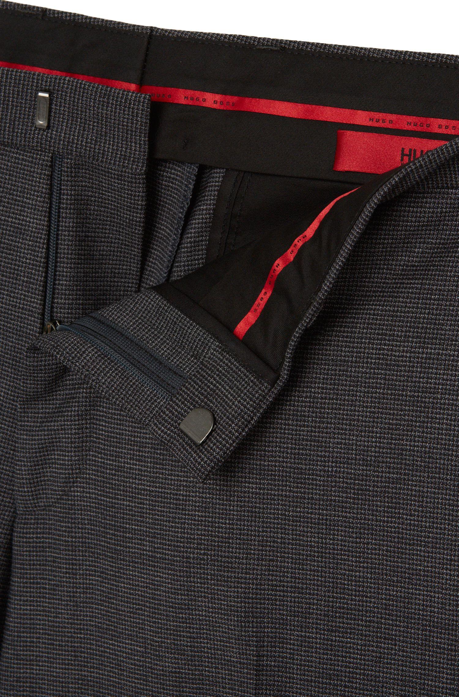 Extra Slim-Fit Hose aus Stretch-Schurwolle: 'C-Wyn'