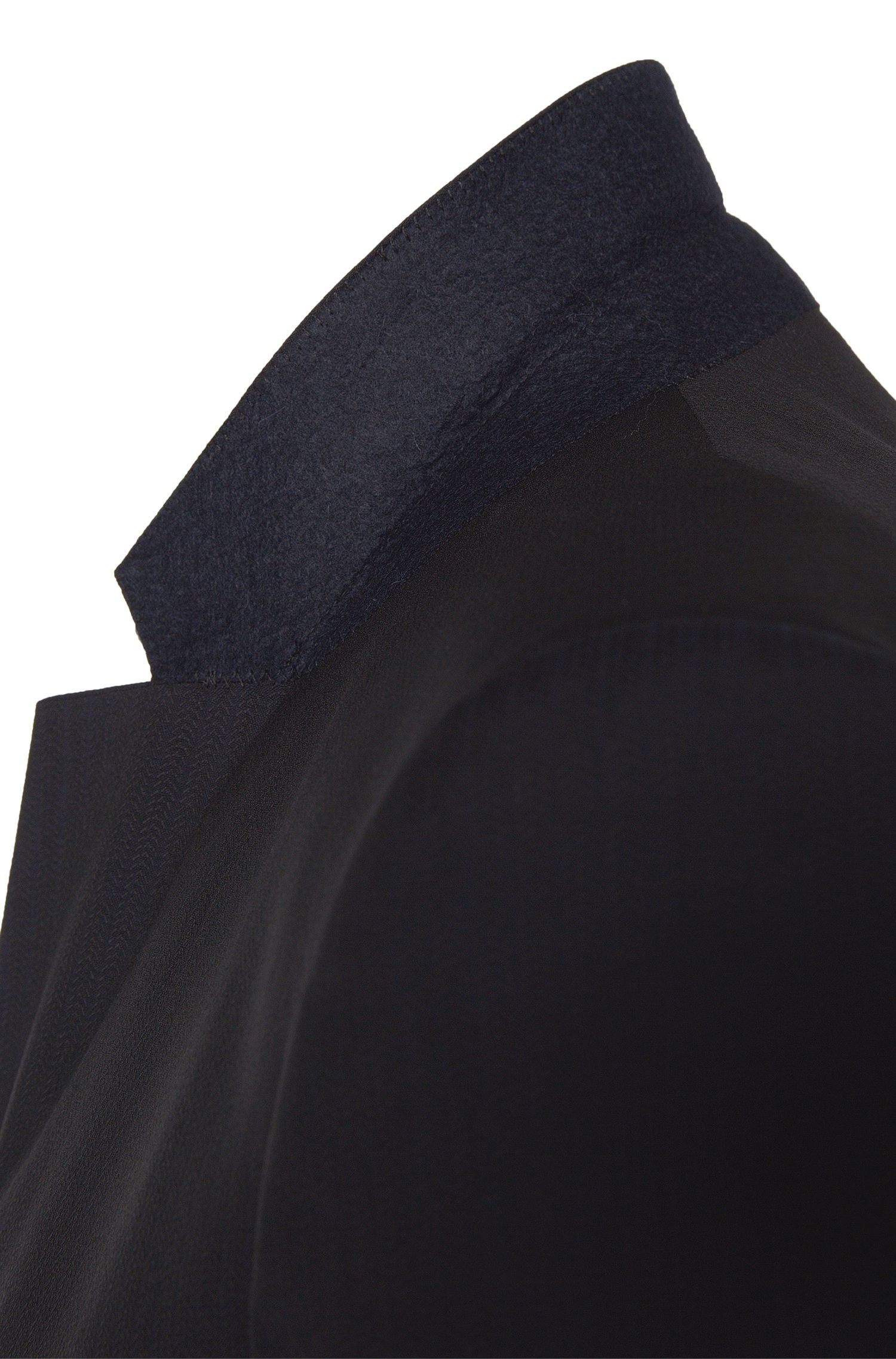 Costume Slim Fit en laine vierge structurée: «Aston/Heryk»