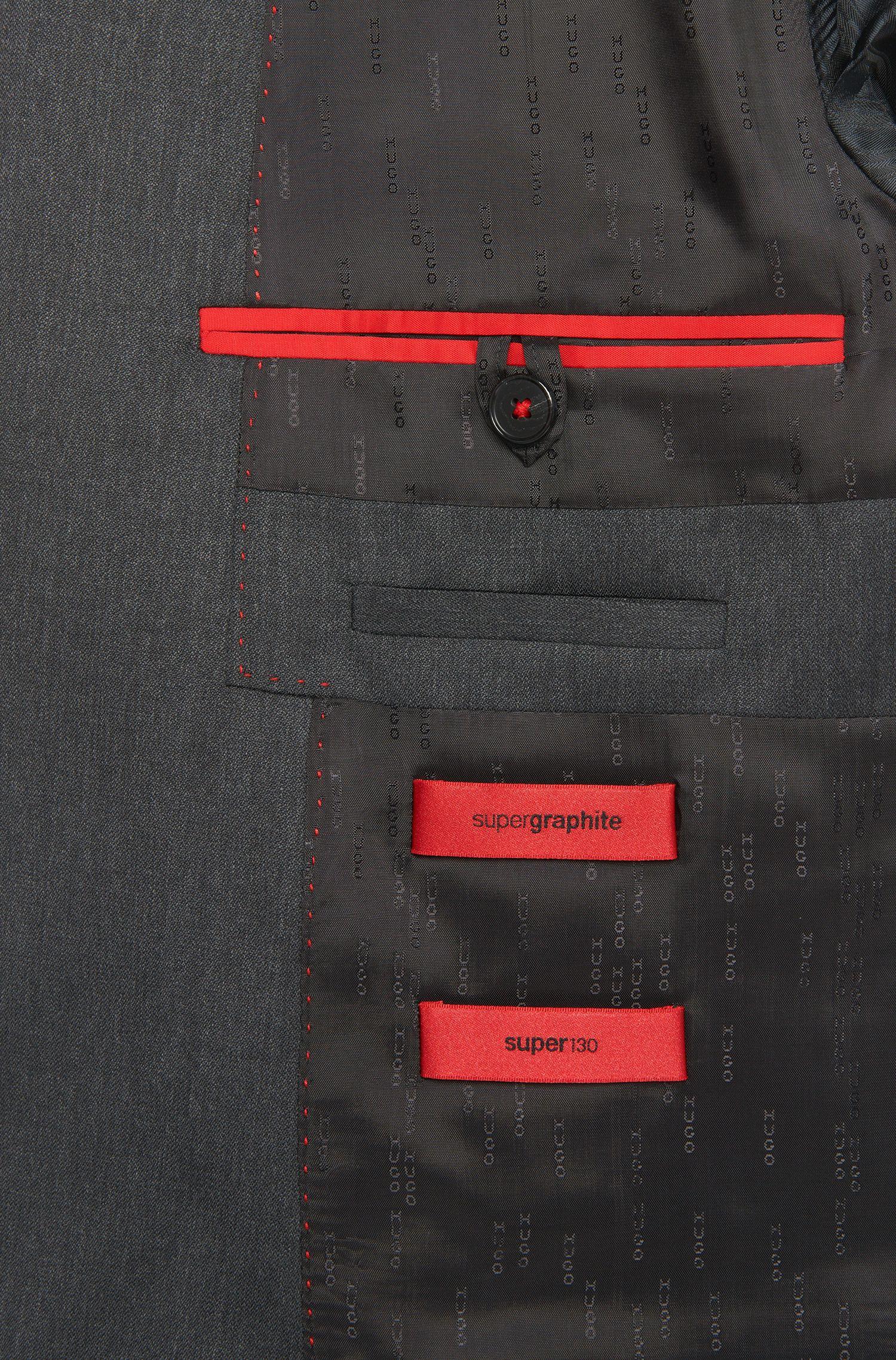 Slim-Fit Anzug aus Schurwolle: 'Arti/Heilon'