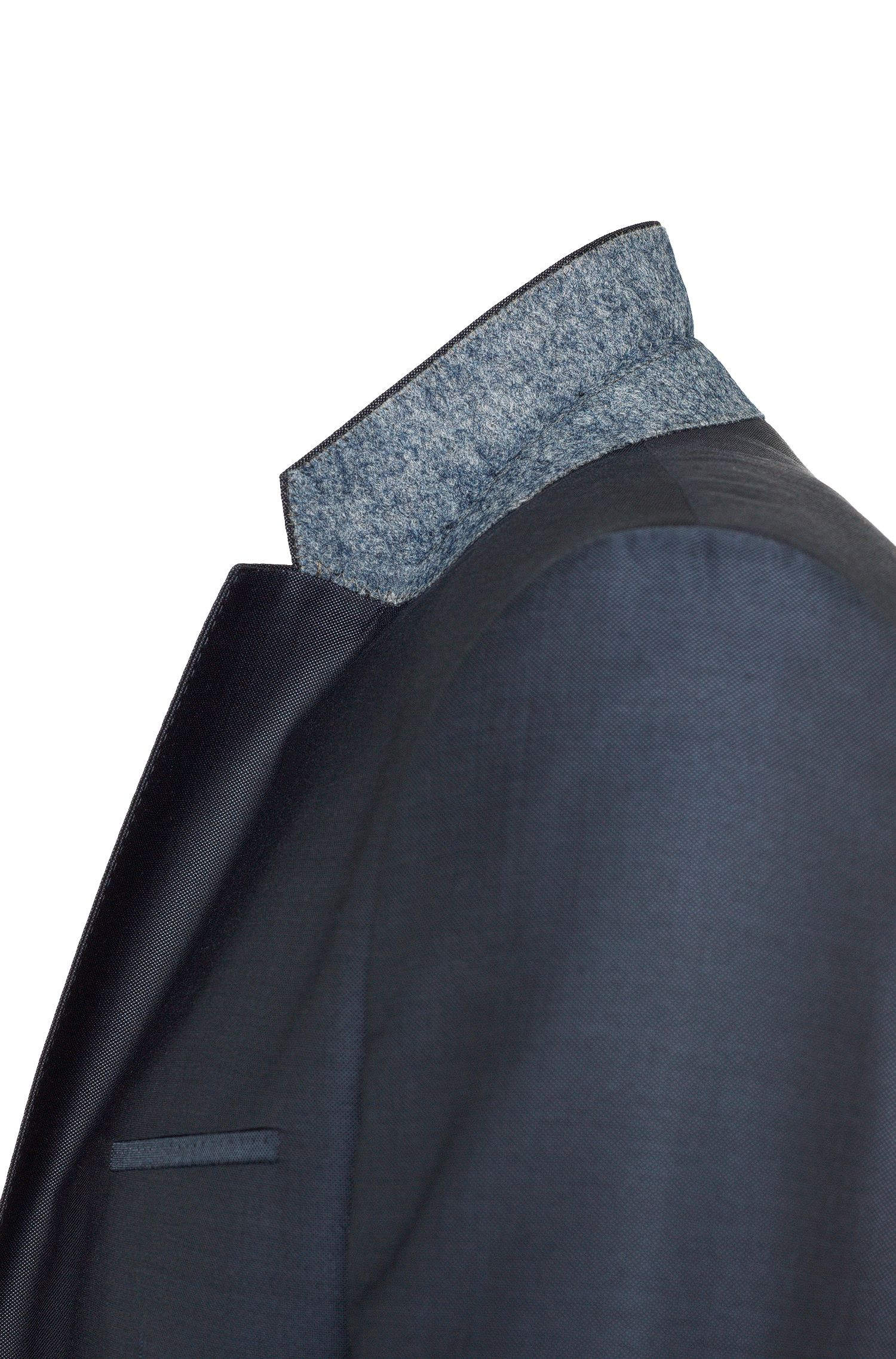 Costume Slim Fit en laine vierge mélangée, avec de la soie: «Arti/Heilon»