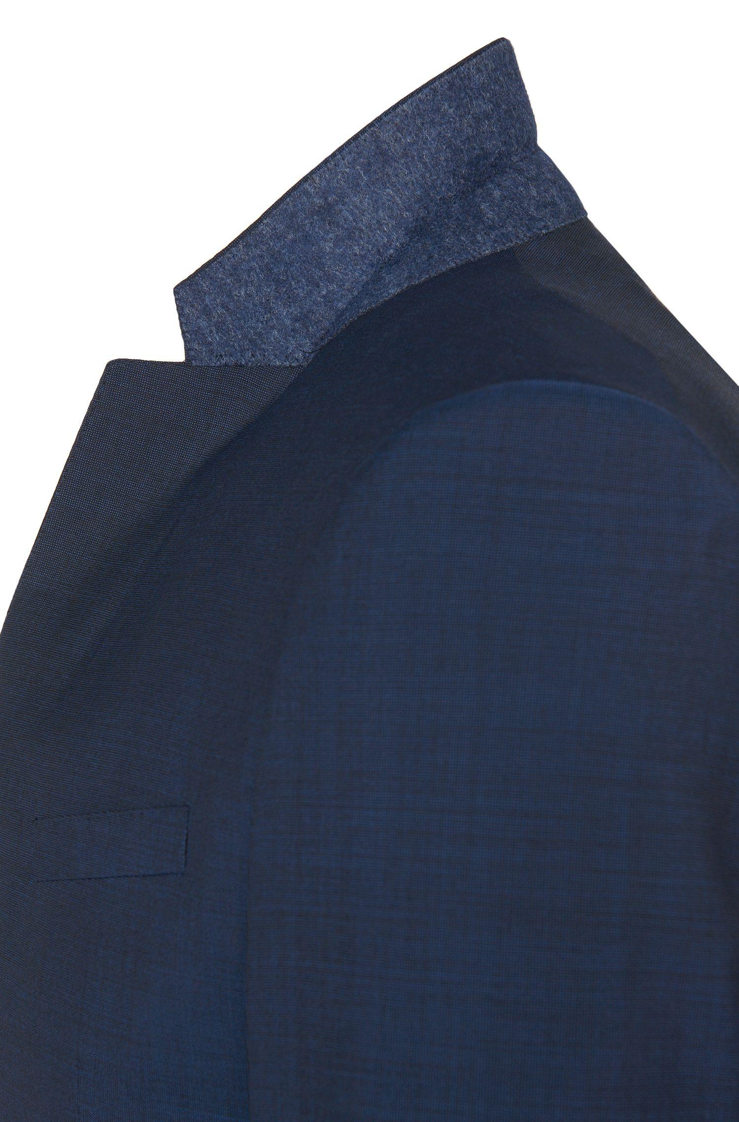 Unifarbener Slim-Fit Anzug mit Weste aus Schurwolle: 'Adwart/Wilard/Hets'