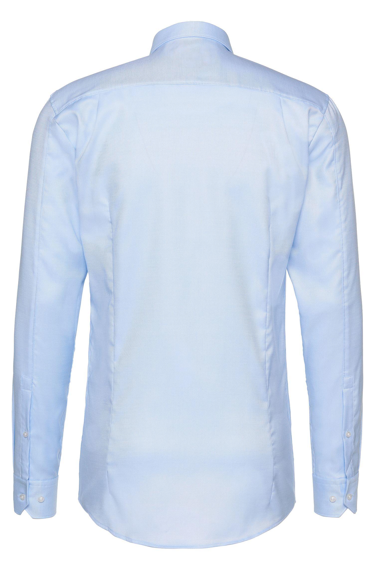 Slim-fit overhemd van katoen: 'Elisha01'