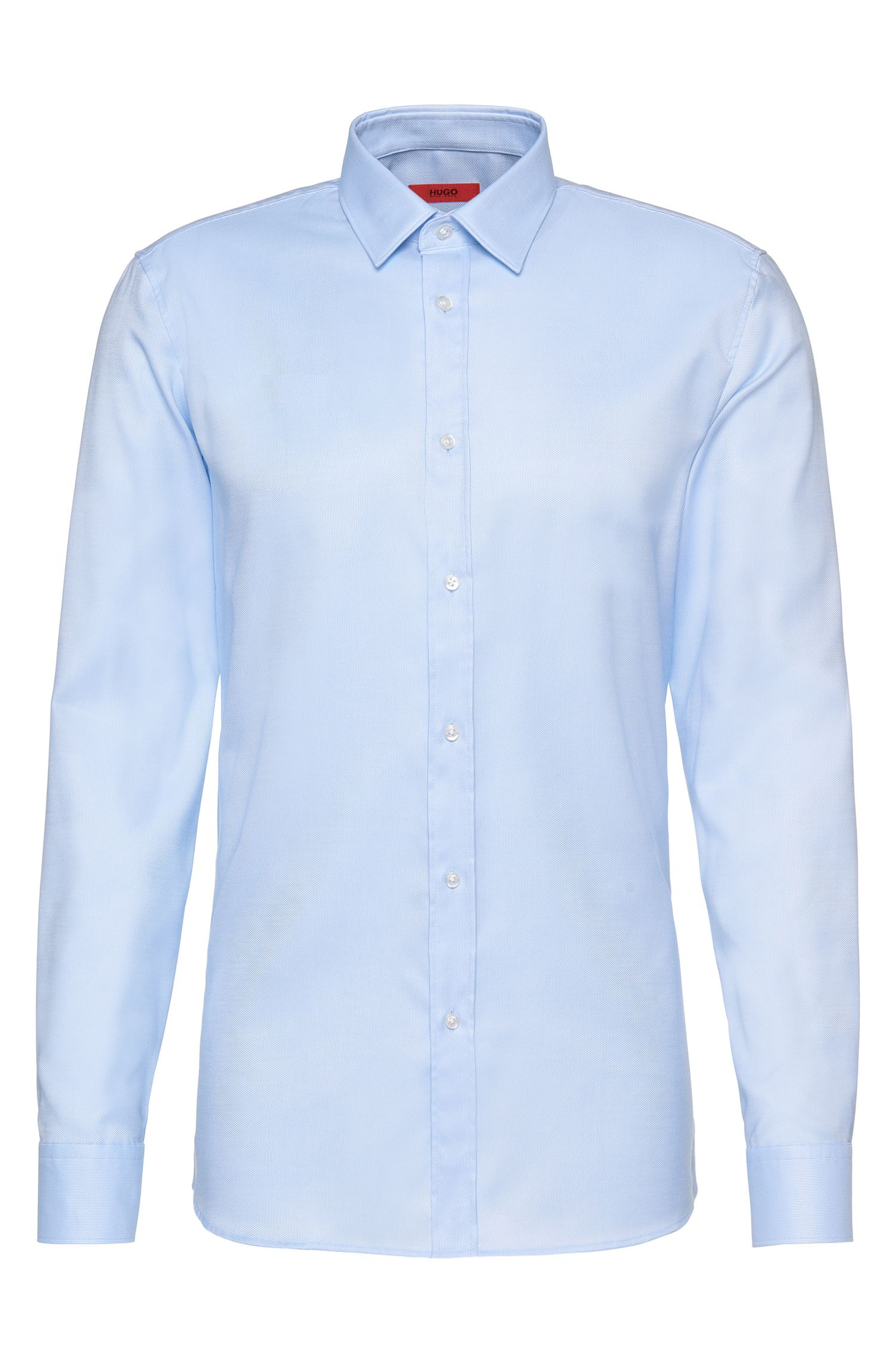 Slim-fit shirt in cotton: 'Elisha01'