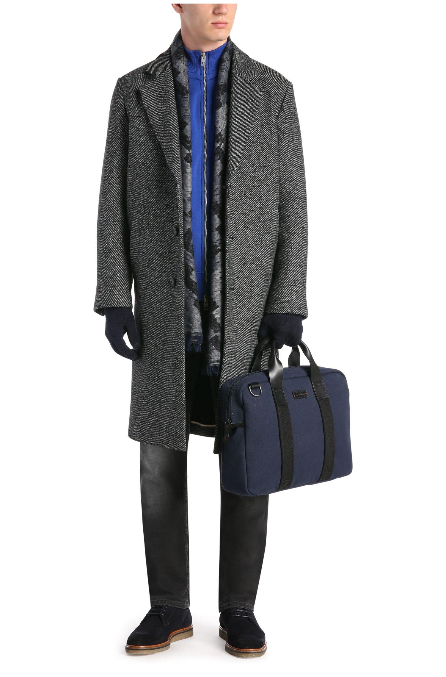 Workbag aus Canvas mit Lederdetails: ´Adventure_S doc`