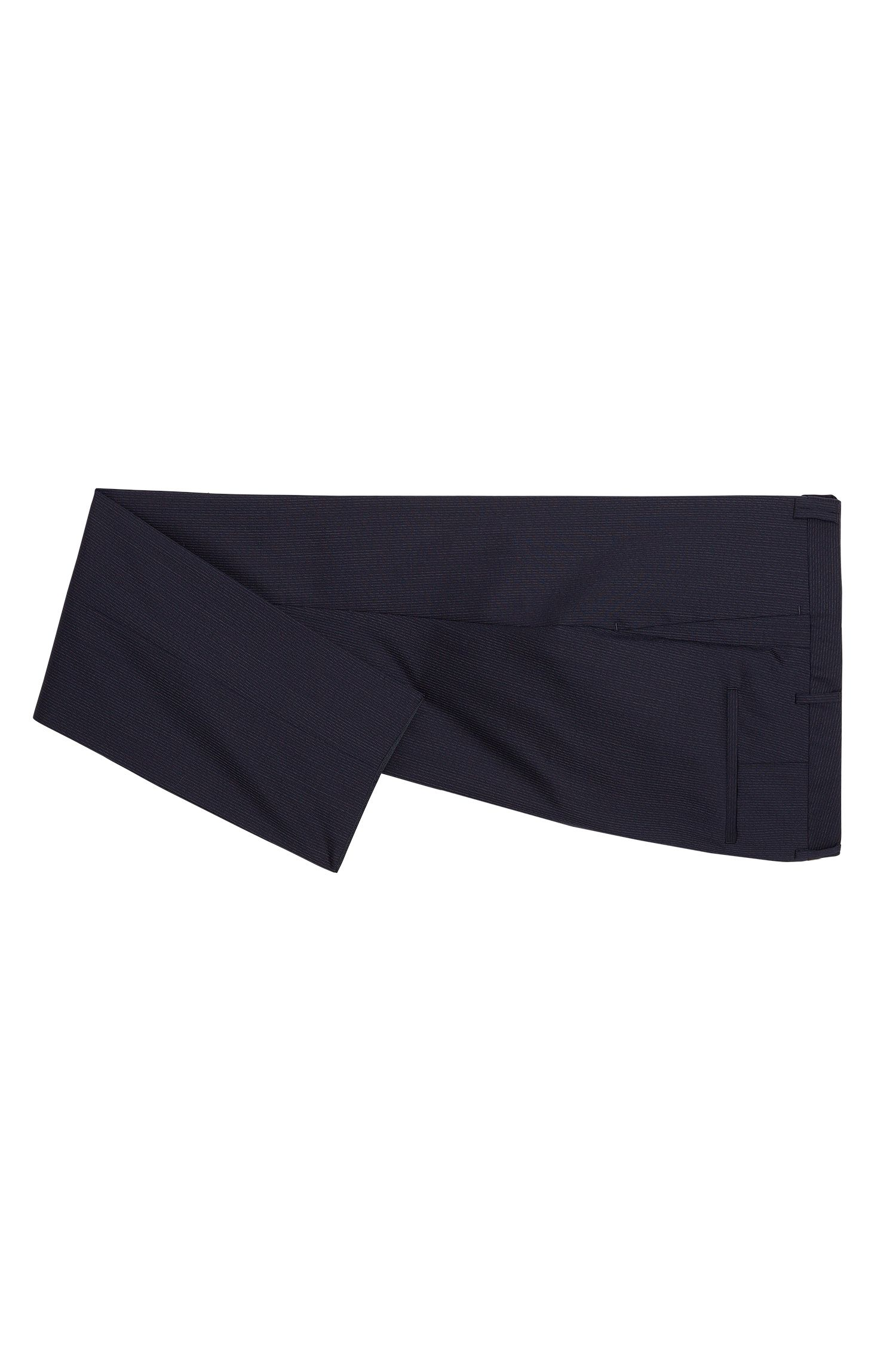 Costume à fines rayures Extra Slim Fit en laine vierge: «Adris4/Heibo3»