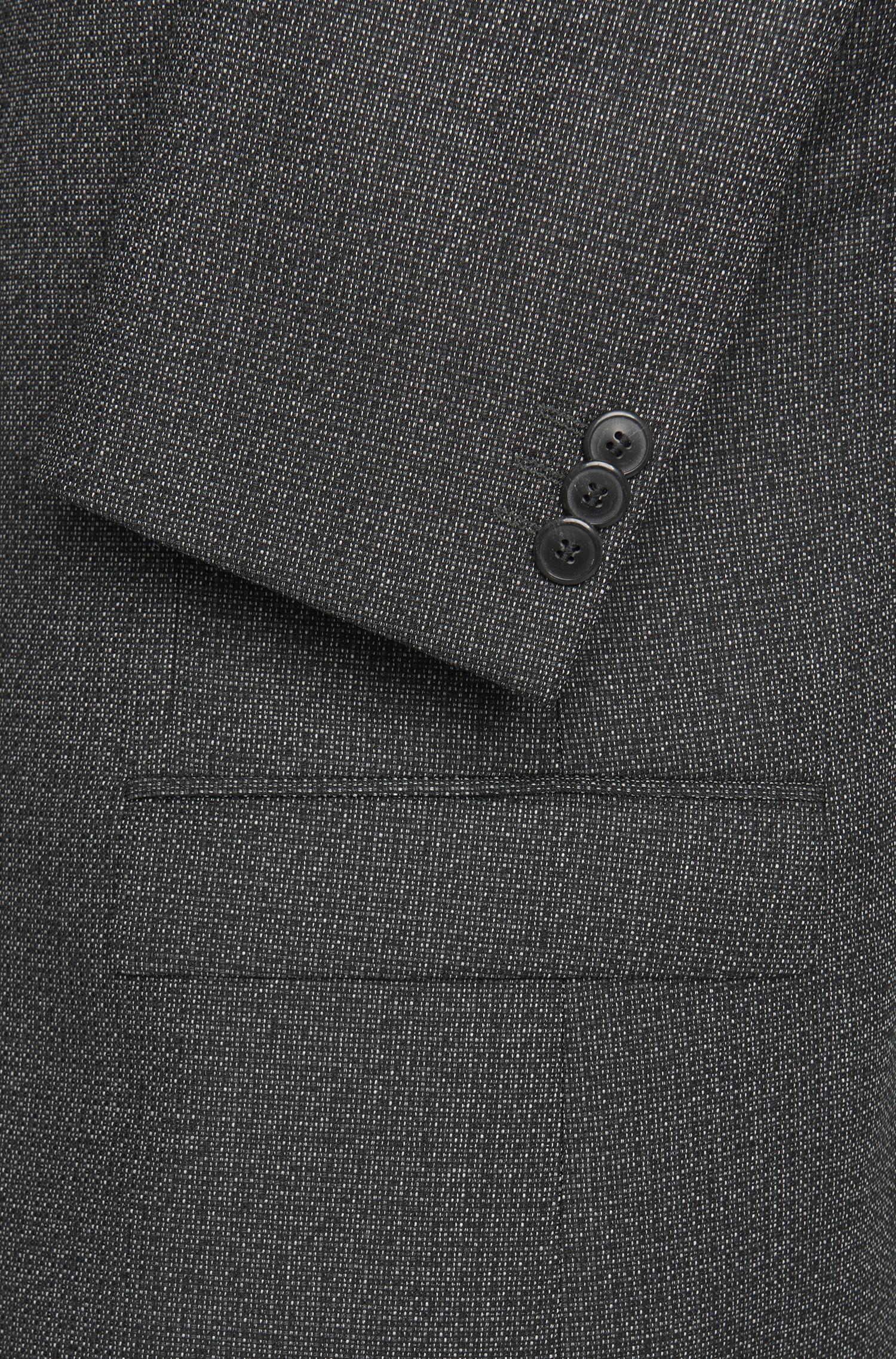 Veste de costume Slim Fit à motif en laine vierge: «Arti»