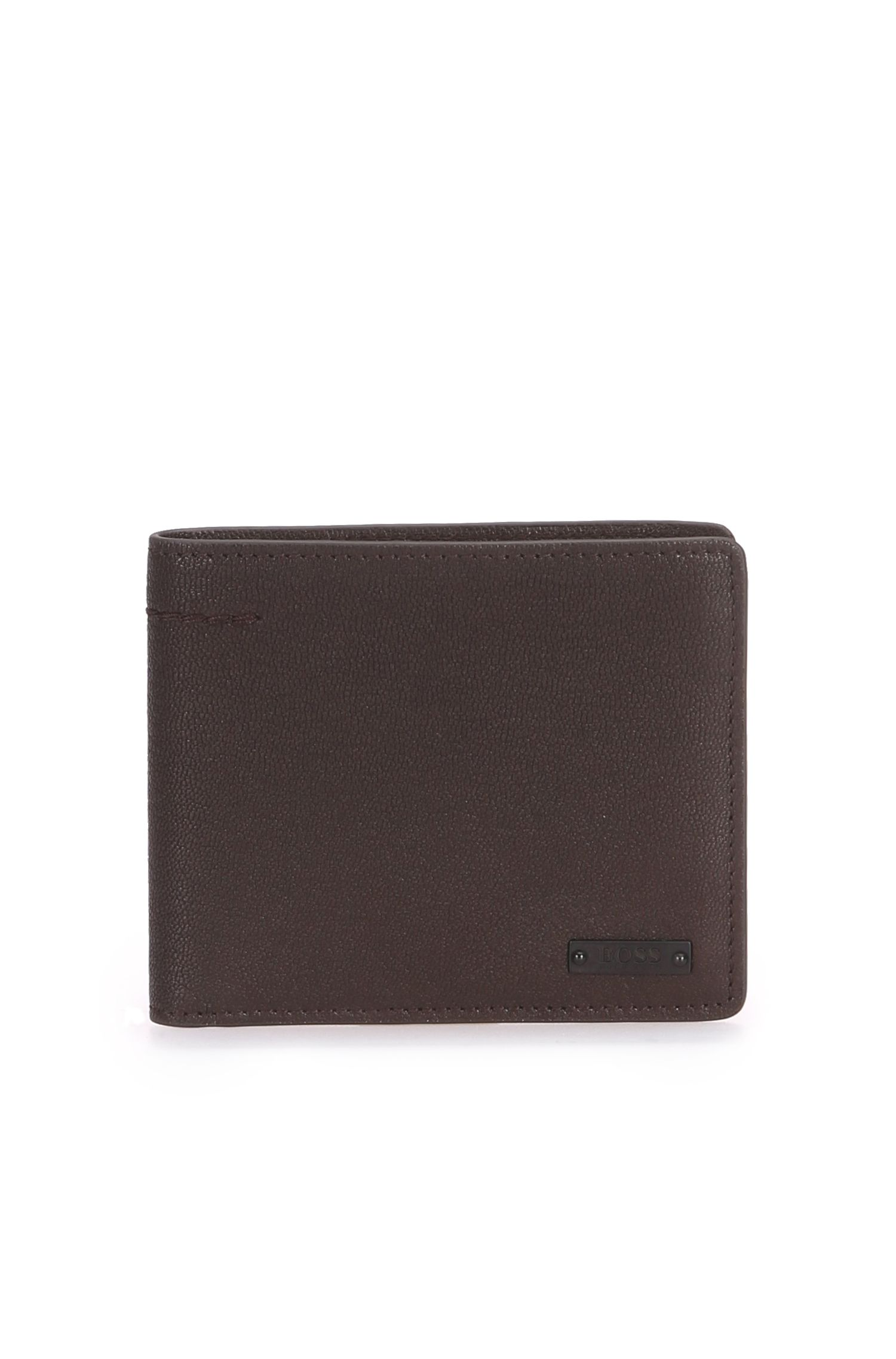 Wallet in grained leather: 'Journey_8 cc'