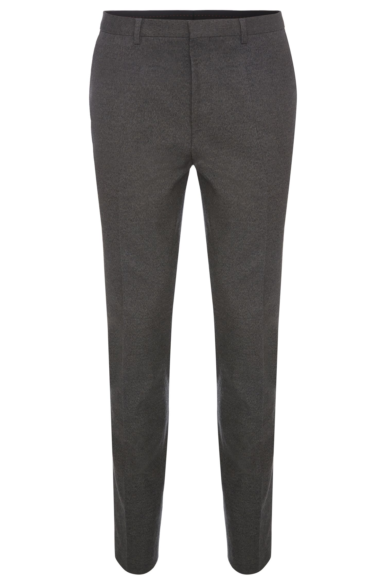 Slim-fit trousers in stretch cotton: 'Hets'
