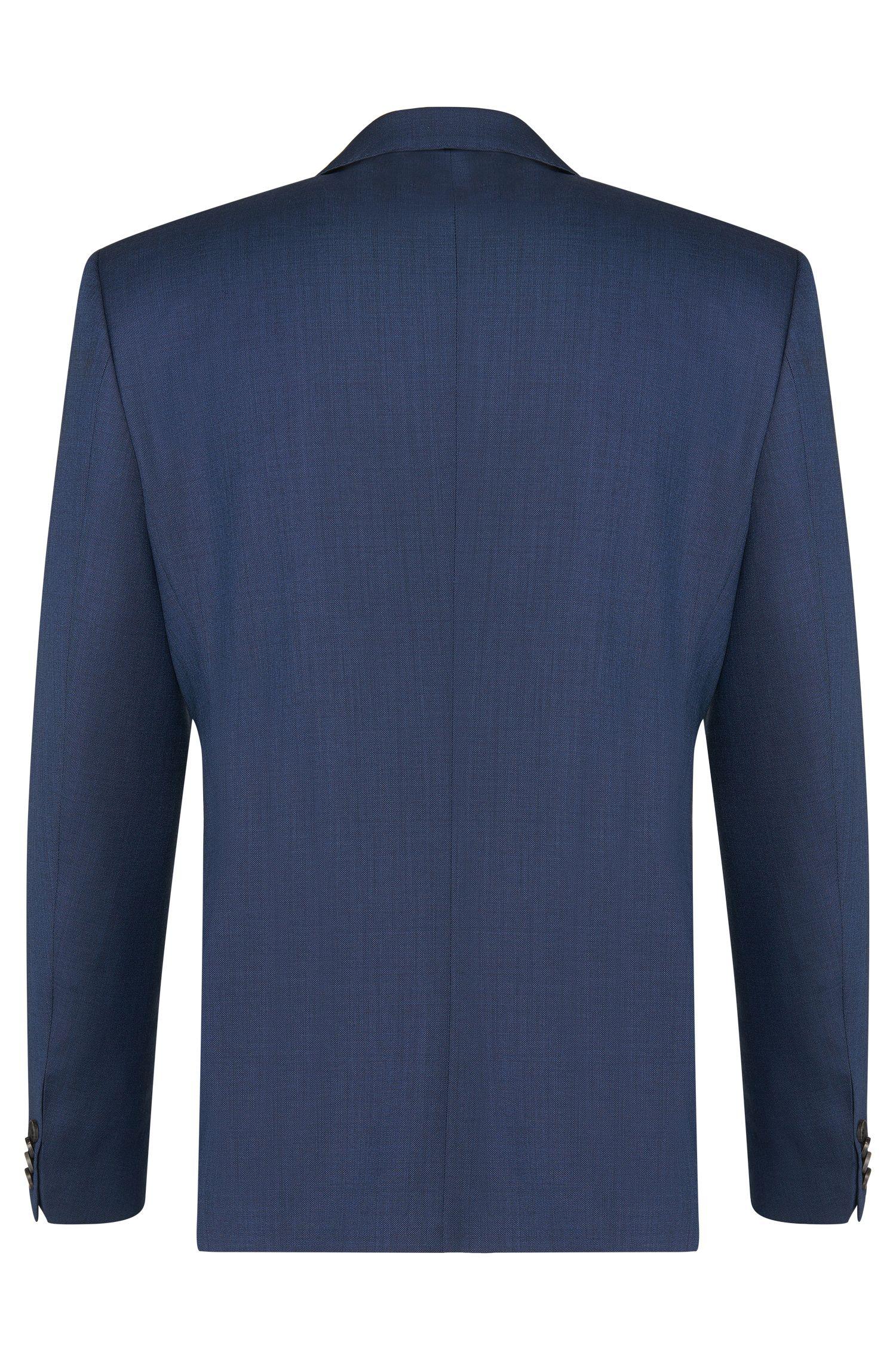 Unifarbener Slim-Fit Anzug aus reiner Schurwolle: 'C-Huge1/C-Genuis'