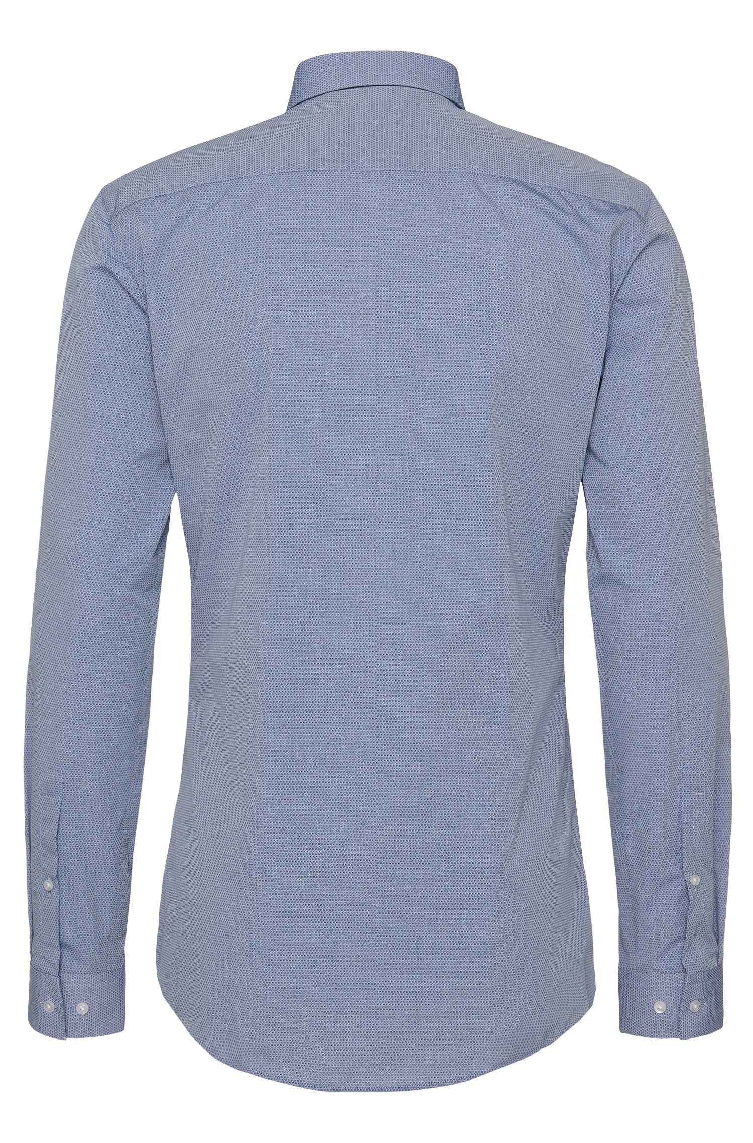 Chemise à motif Slim Fit en pur coton: «Erondo»
