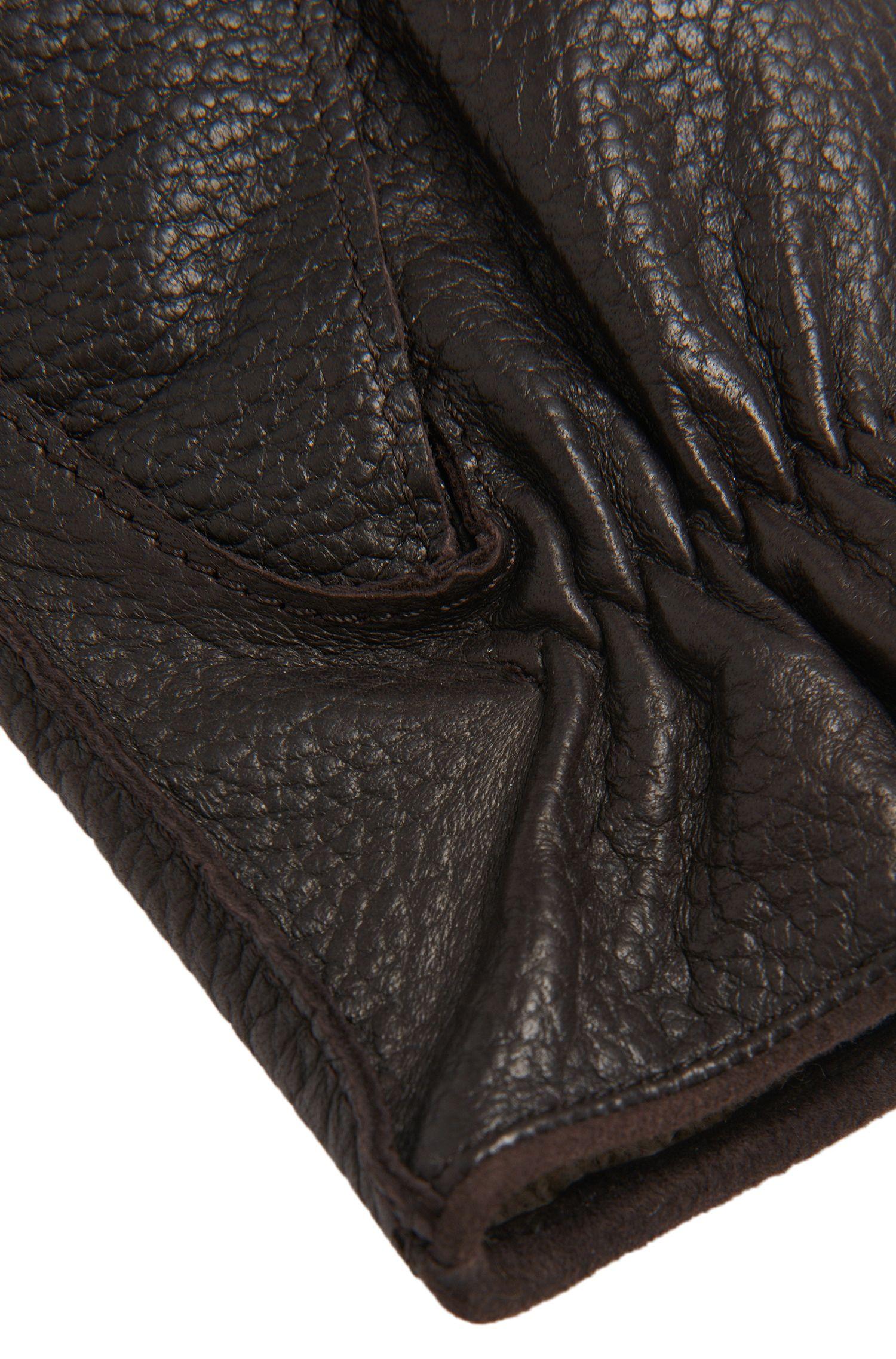 Handschuhe aus Leder mit Elastikeinsatz: 'Kranto3'