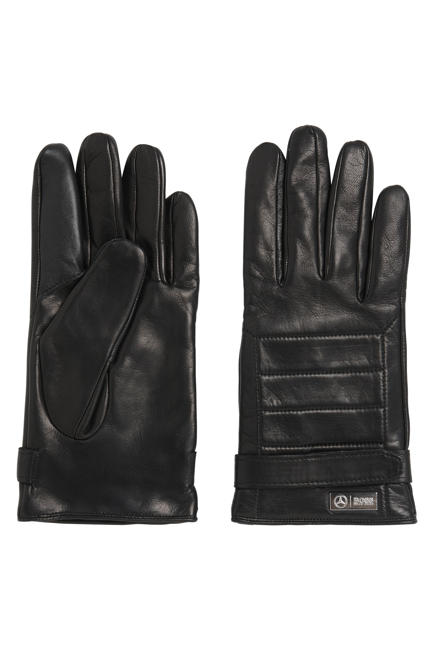 Gants en cuir à patte auto-agrippante : « Kilox2-TT » de la collection Mercedes-Benz