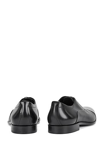 Schnürschuhe aus Leder: 'Sigma_Derb_ltct', Schwarz