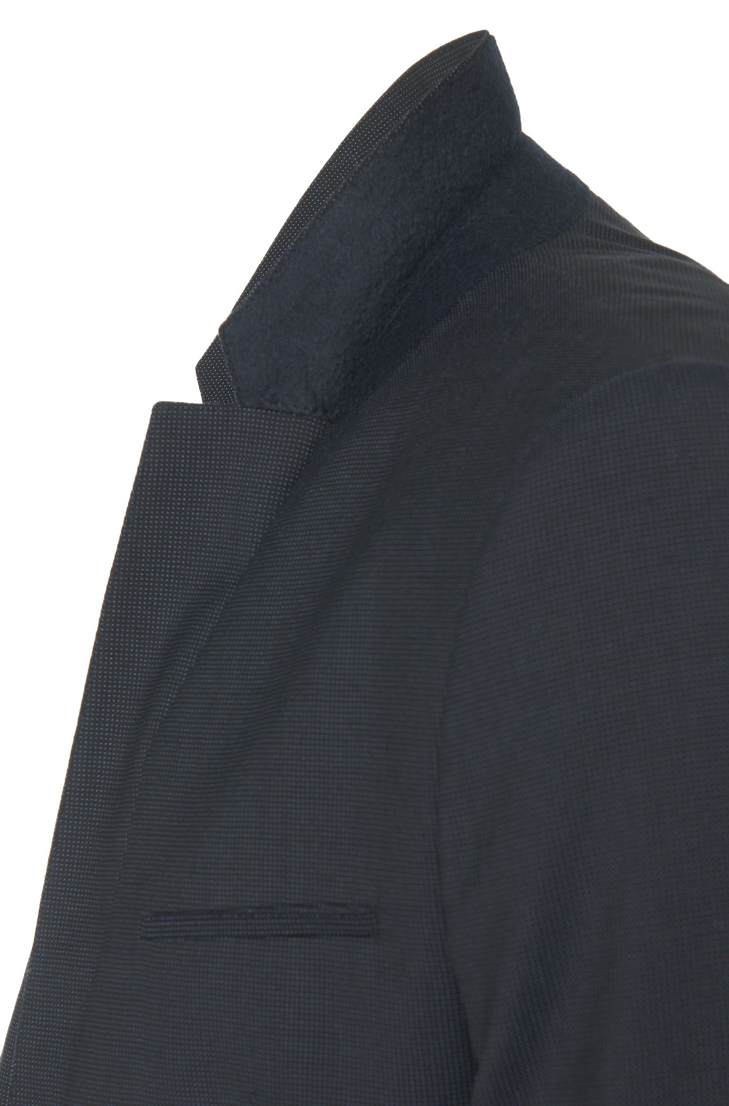 Fein strukturiertes Slim-Fit Sakko aus Schurwolle: 'AlisterS'