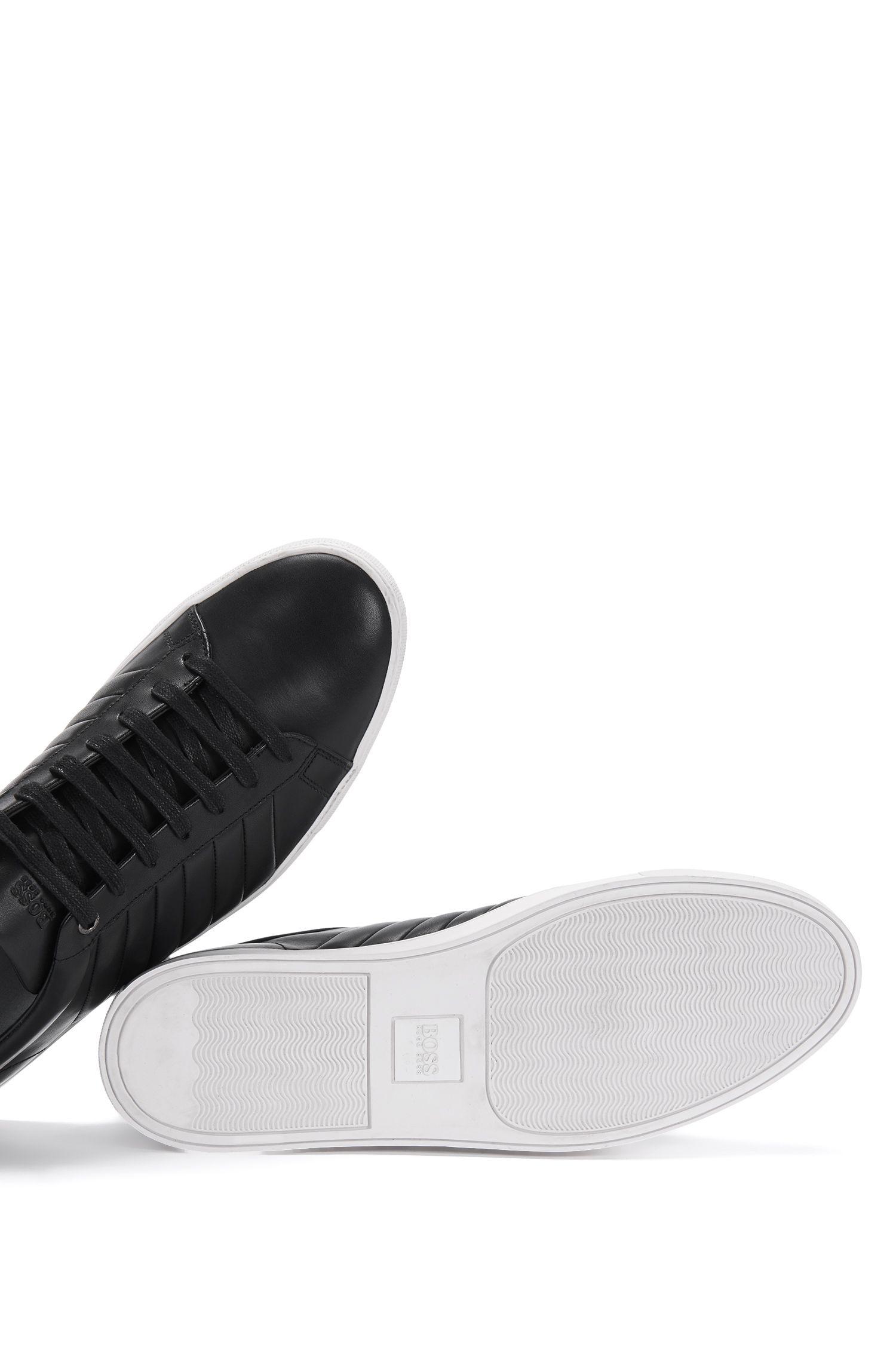 Sneakers aus Leder mit geriffelten Partien: 'Timeless_Tenn_ltma'