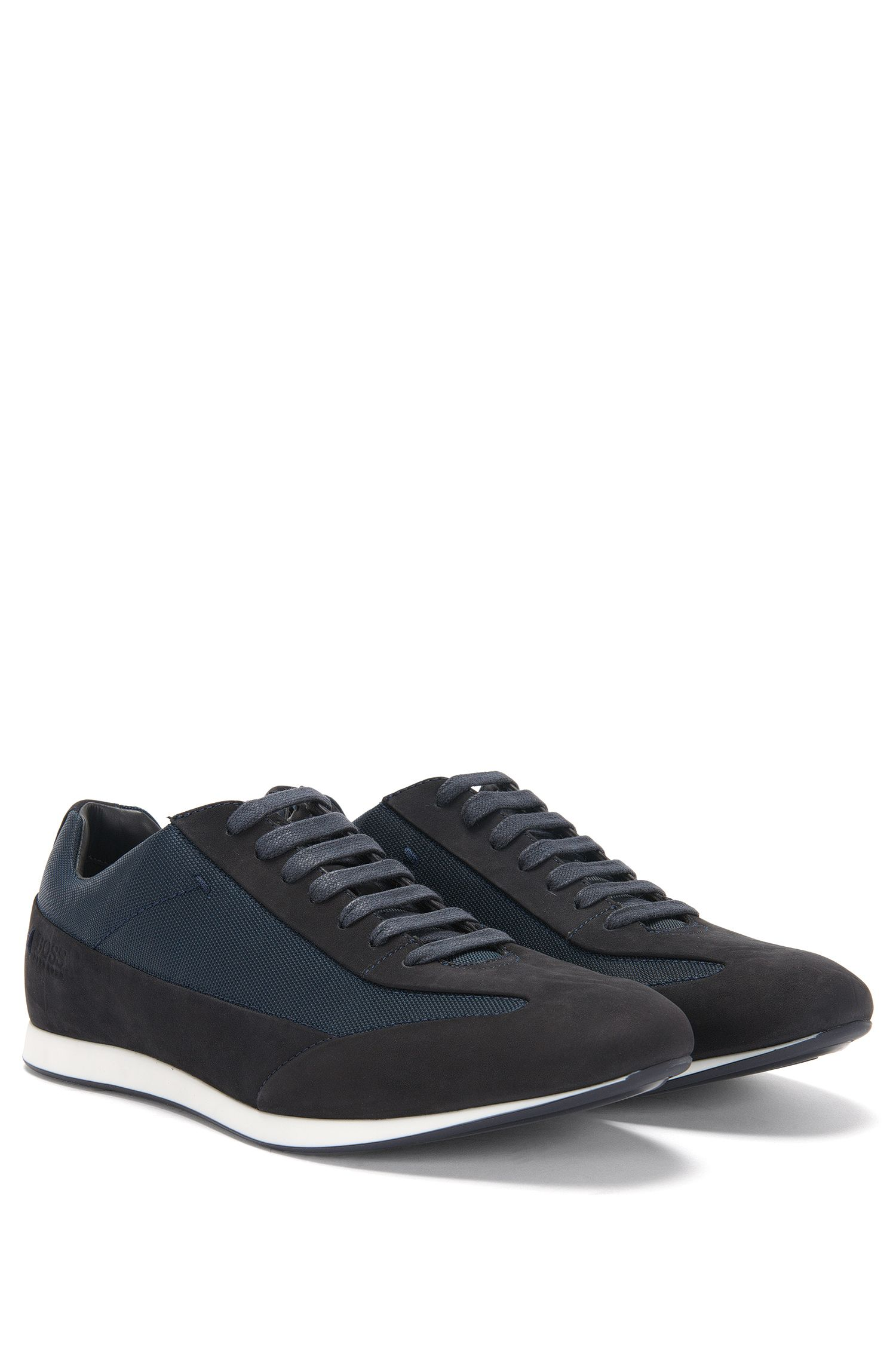 Sneakers aus Leder und Textil: 'Fulltime_Lowp_nuny'