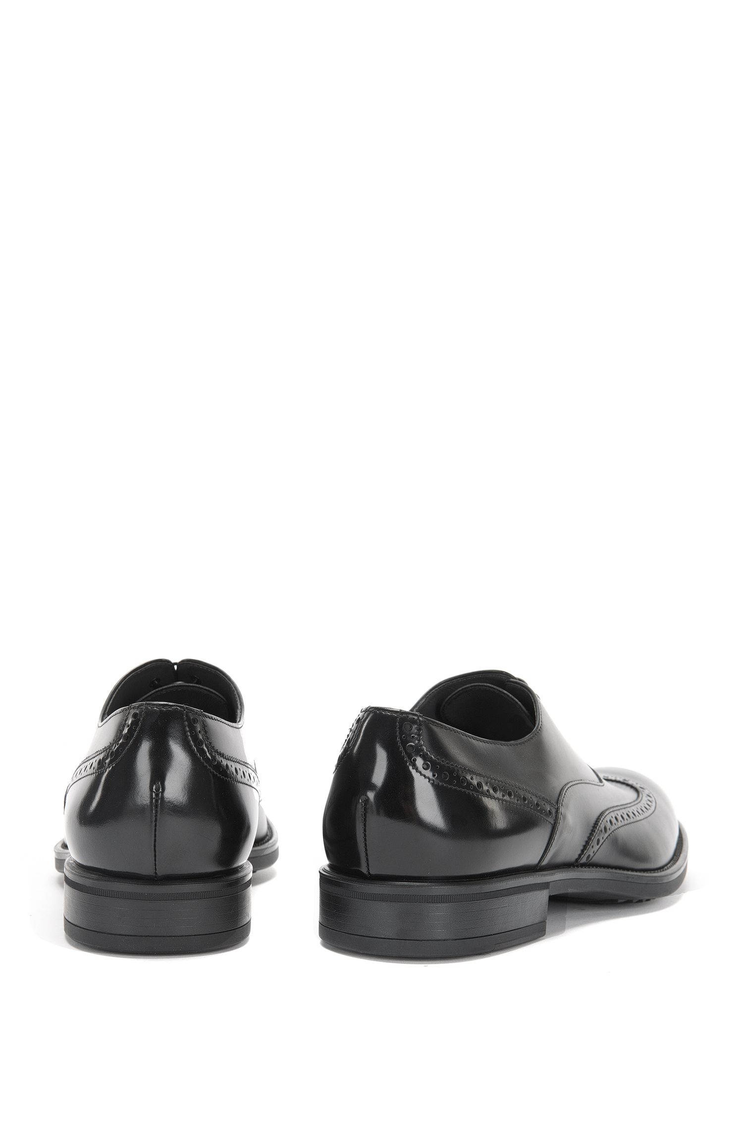 Schnürschuhe aus Leder mit Lochmuster: 'Kenth_Oxfr_ltwtb'